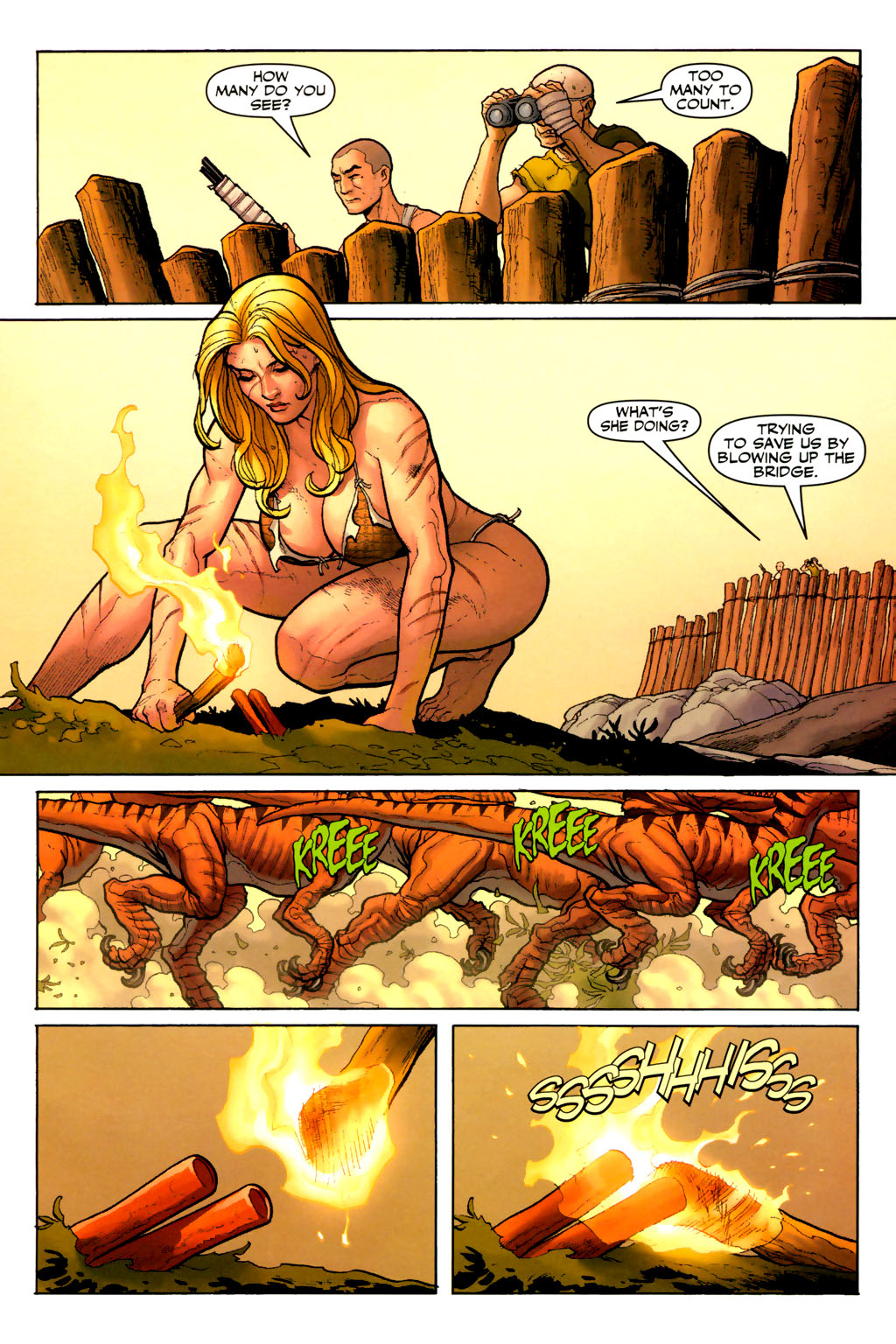 Read online Shanna, the She-Devil (2005) comic -  Issue #7 - 6