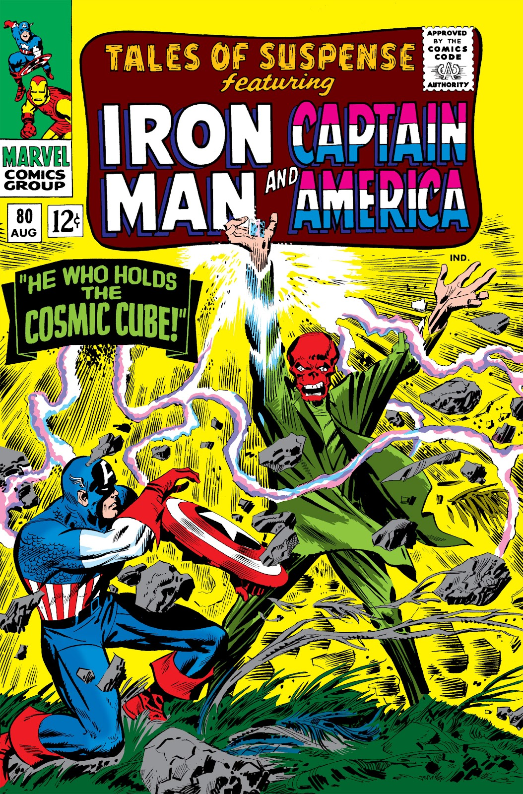 Tales of Suspense (1959) issue 80 - Page 1