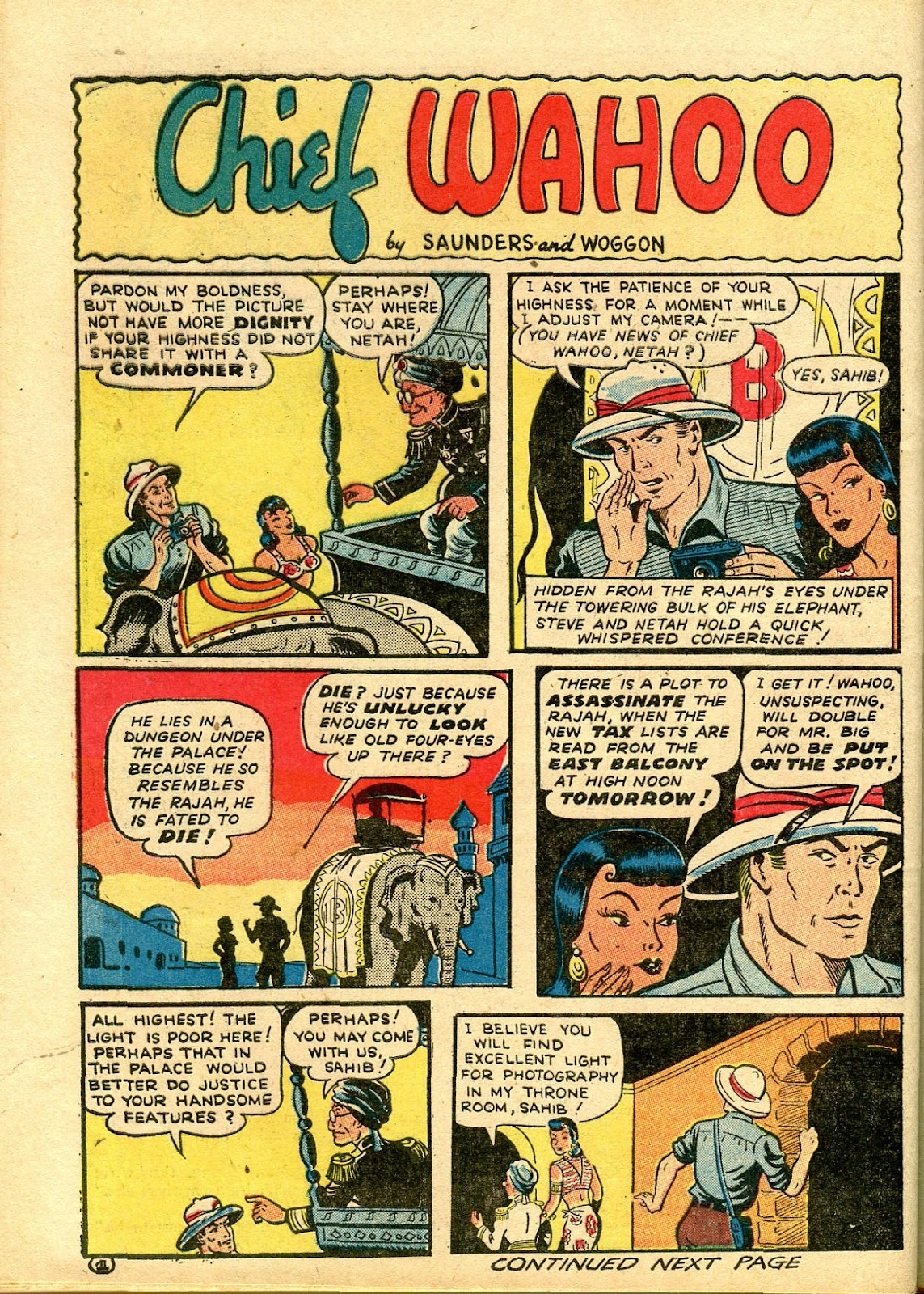 Read online Famous Funnies comic -  Issue #111 - 54