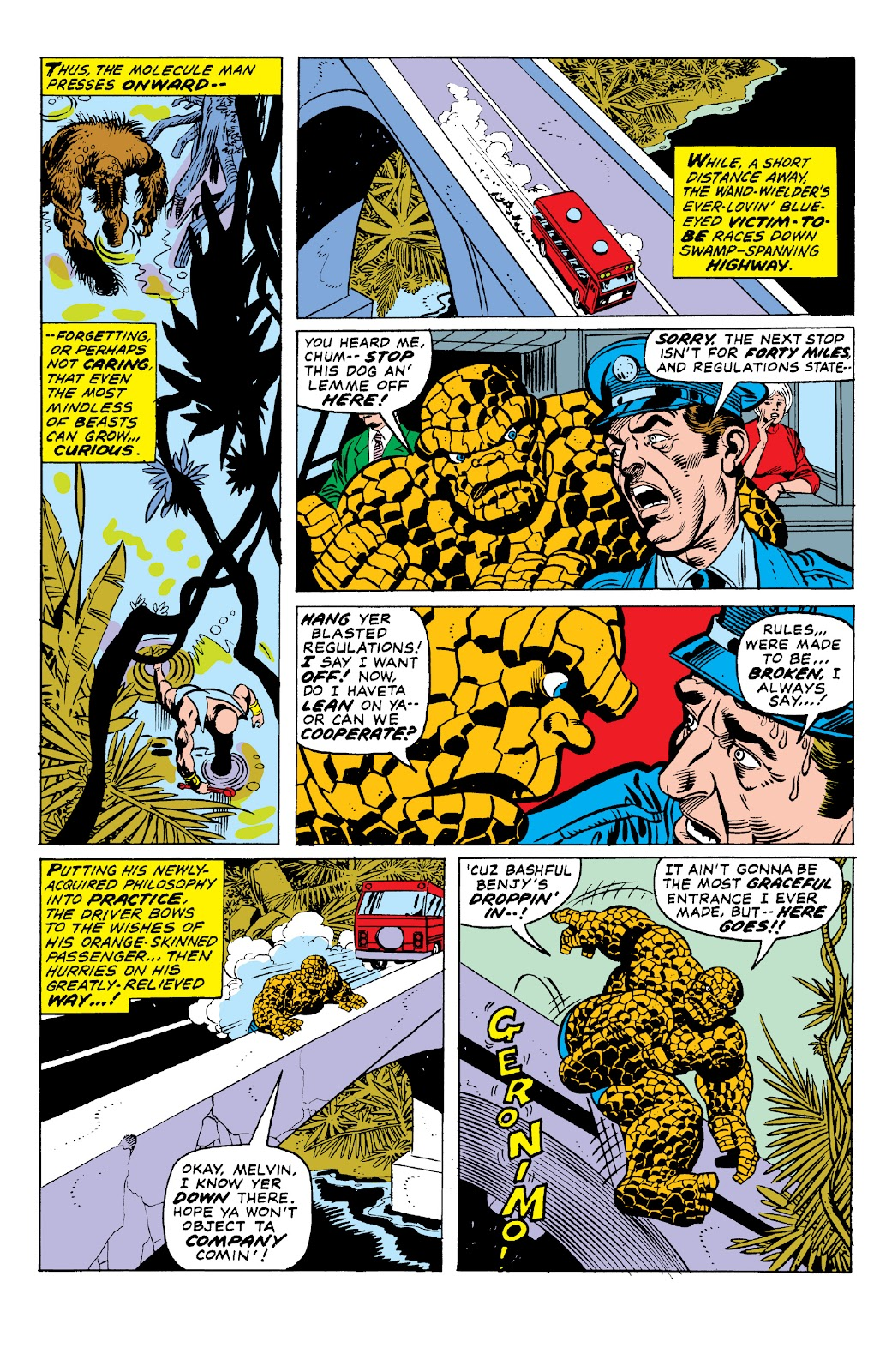Read online Marvel Two-In-One Epic Collection: Cry Monster comic -  Issue # TPB (Part 1) - 54