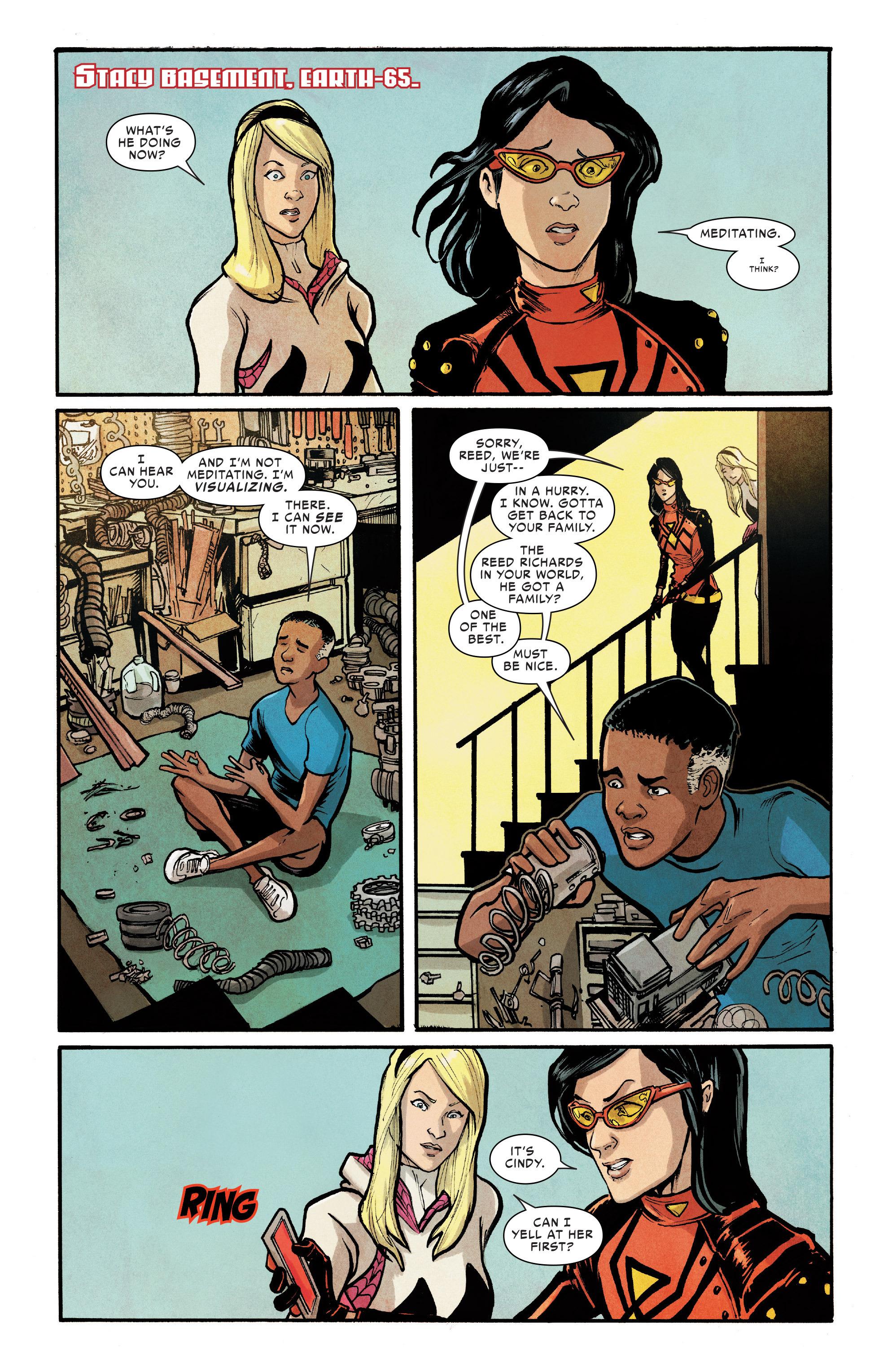 Read online Silk (2016) comic -  Issue #7 - 20