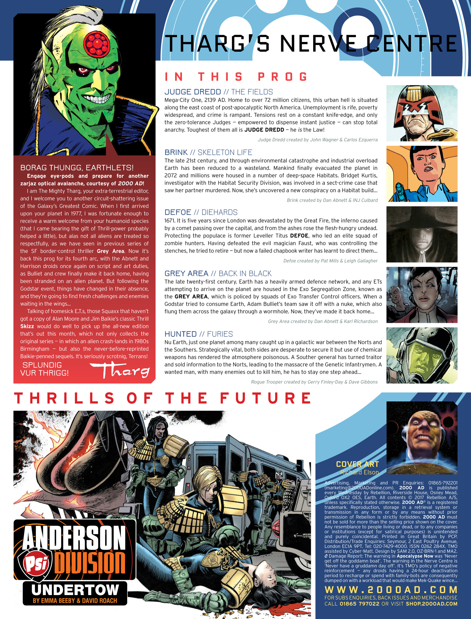Read online 2000 AD comic -  Issue #2035 - 2