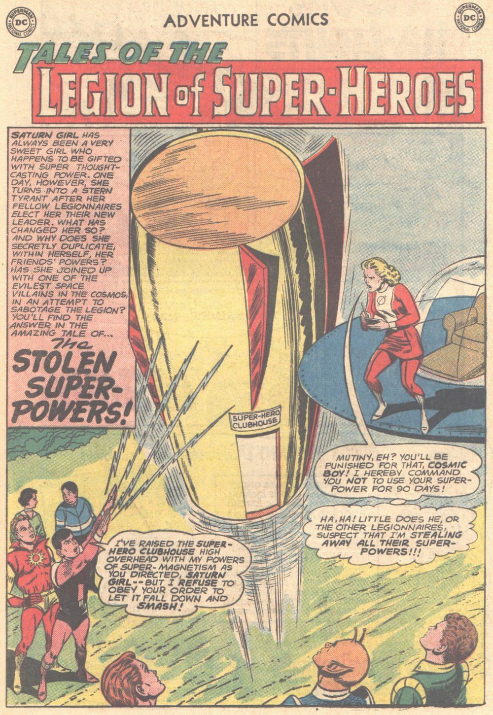 Read online Adventure Comics (1938) comic -  Issue #304 - 21