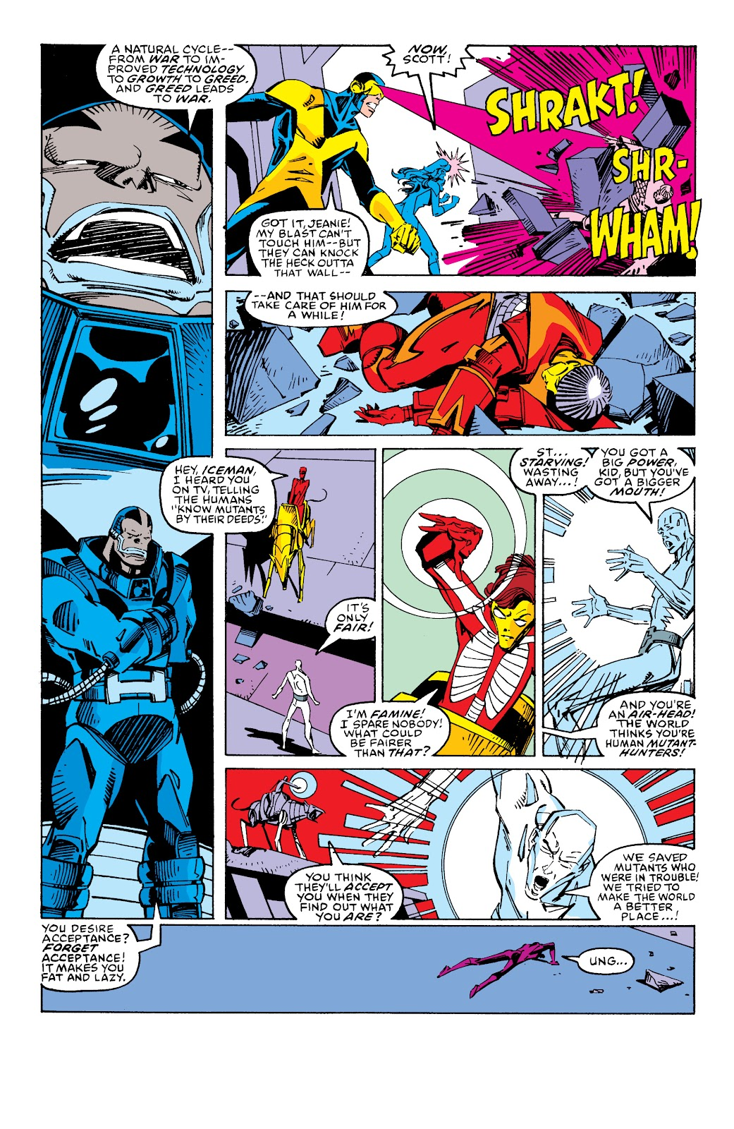 Read online X-Men Milestones: Fall of the Mutants comic -  Issue # TPB (Part 2) - 91