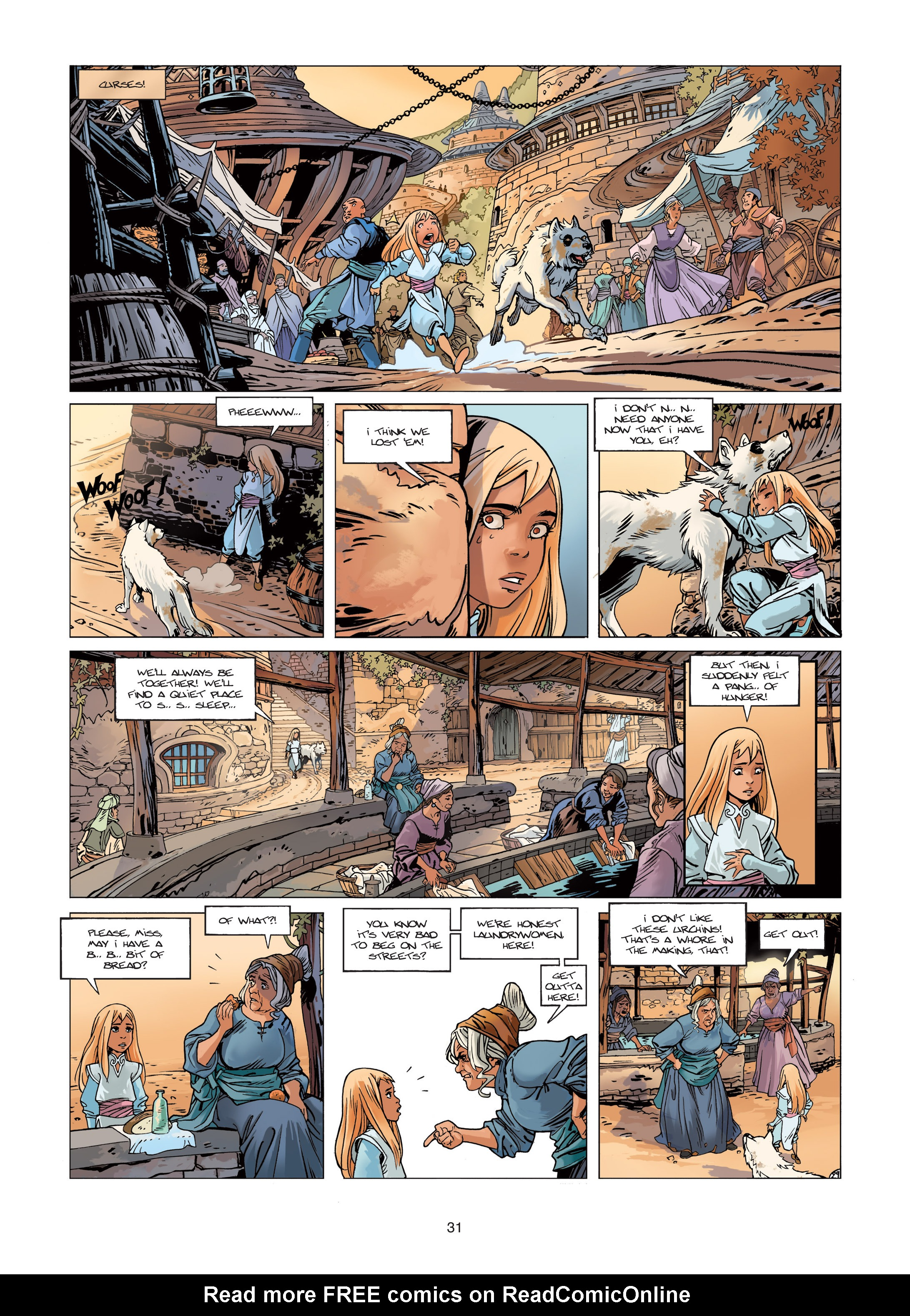 Read online Sangre Vol. 1: Sangre the Survivor comic -  Issue # Full - 31