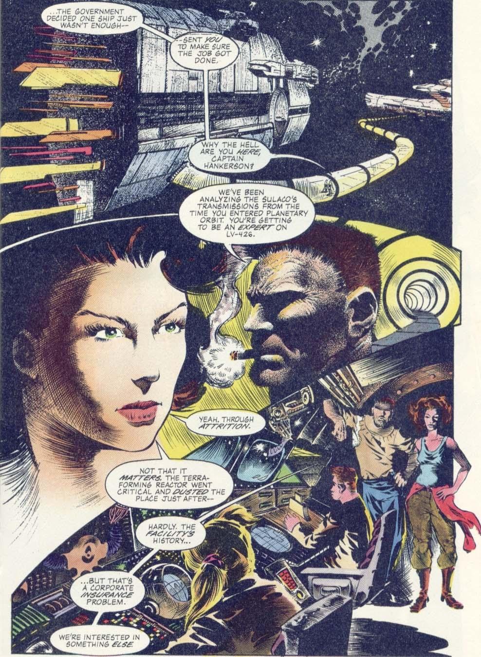 Read online Aliens: Earth War comic -  Issue #1 - 9
