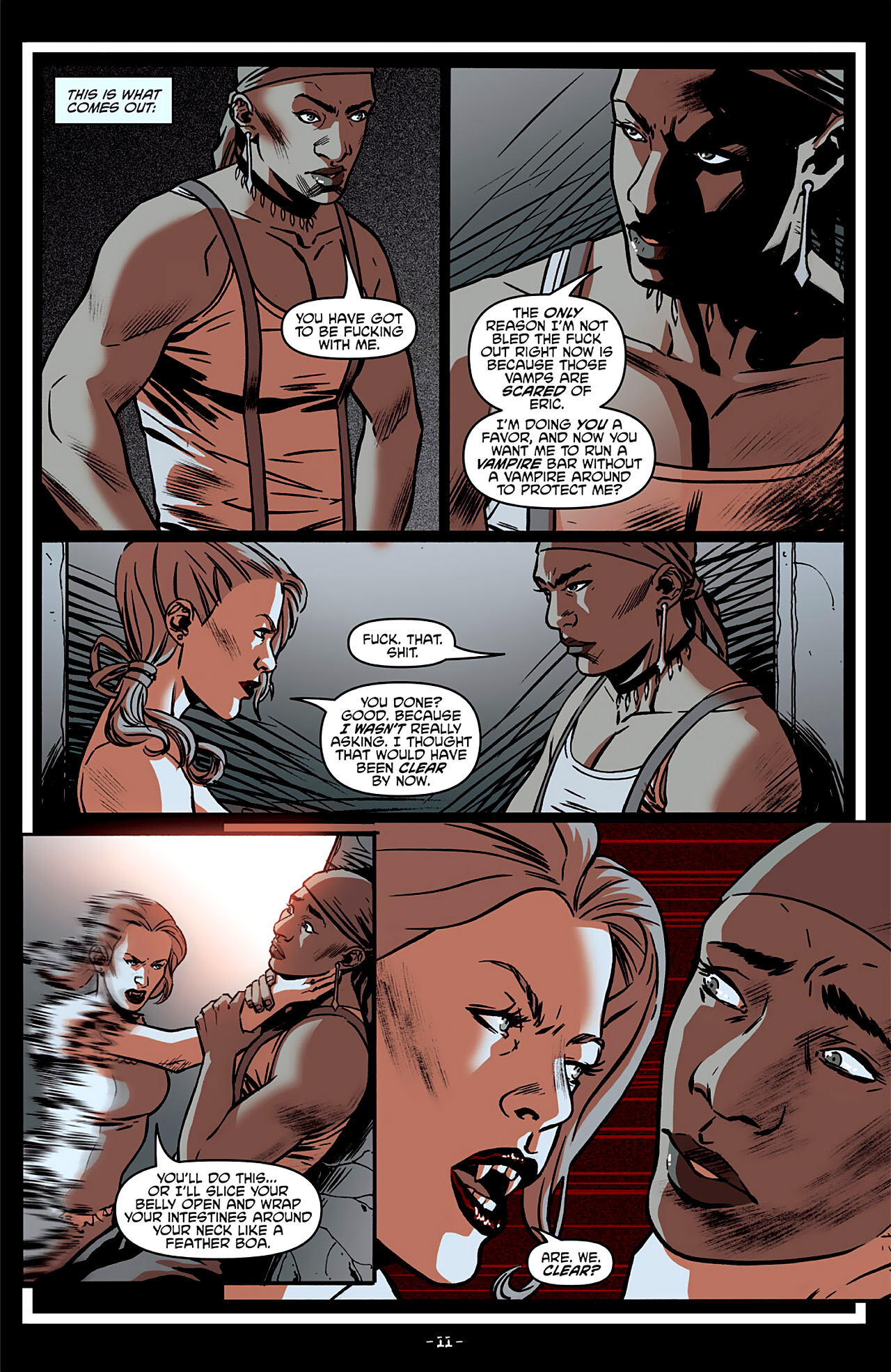 Read online True Blood: French Quarter comic -  Issue #4 - 16