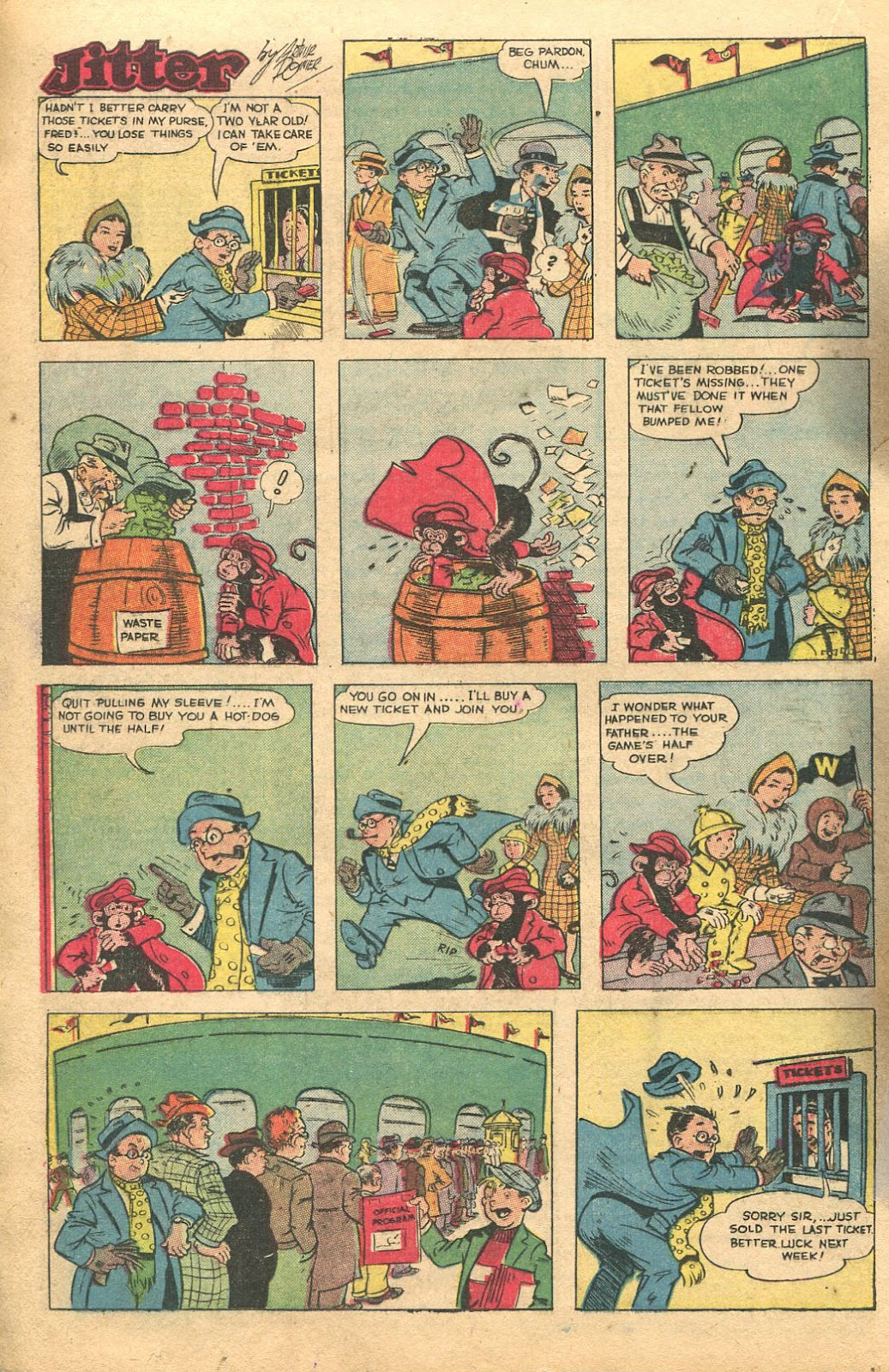 Read online Famous Funnies comic -  Issue #135 - 20