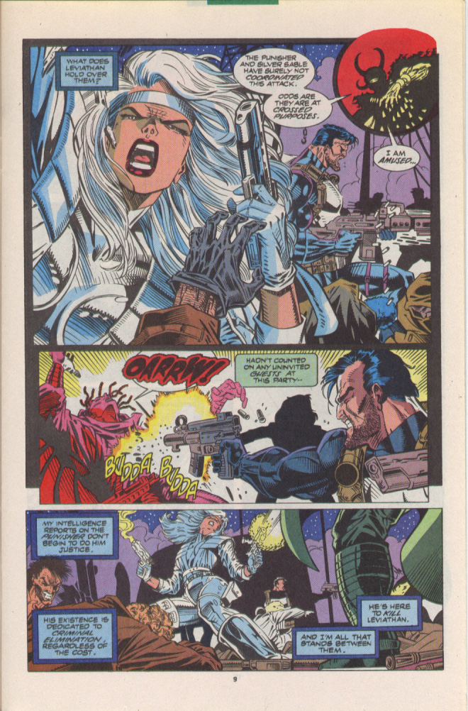 Read online Silver Sable and the Wild Pack comic -  Issue #10 - 8