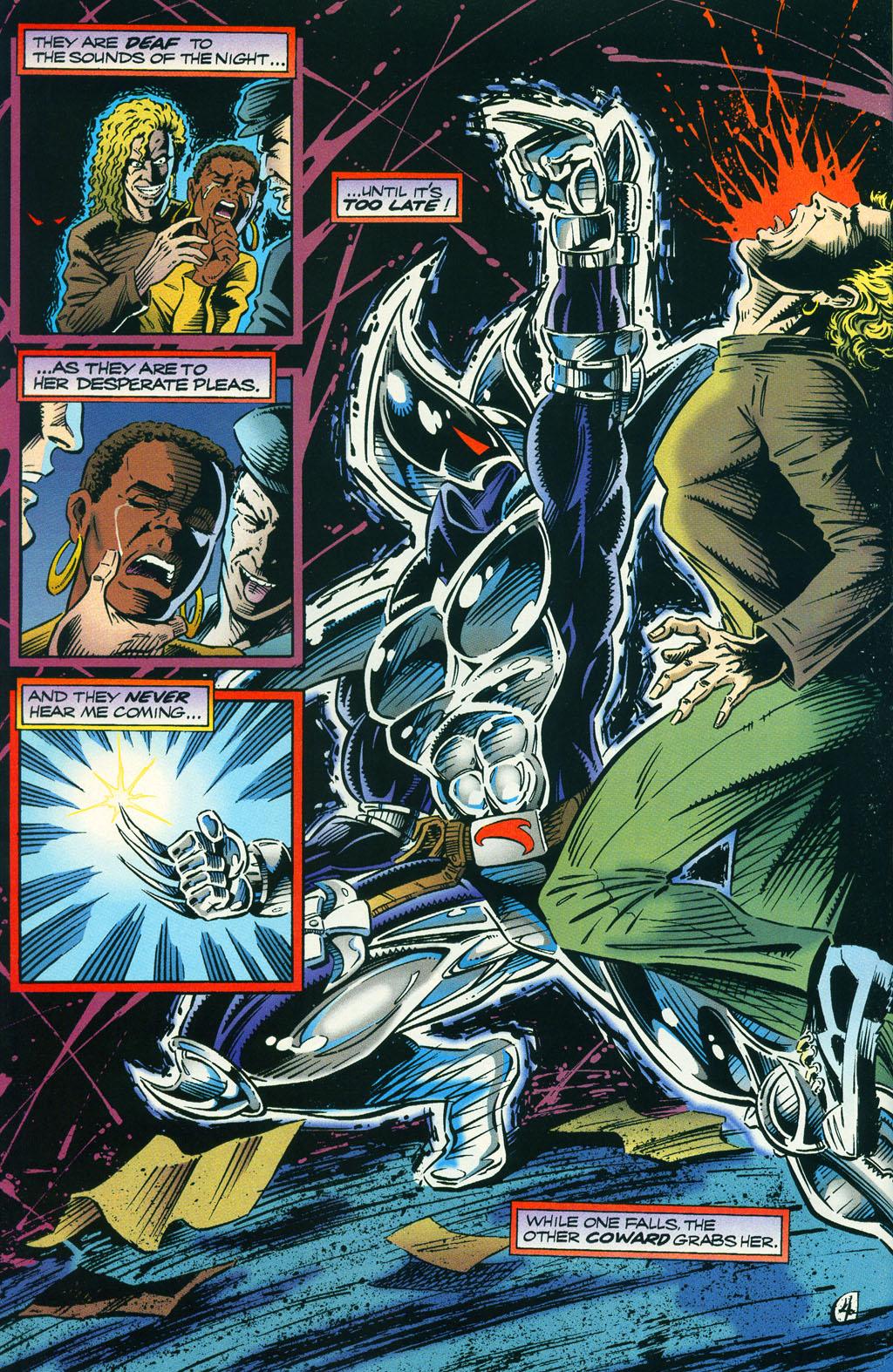 Read online ShadowHawk comic -  Issue #5 - 8
