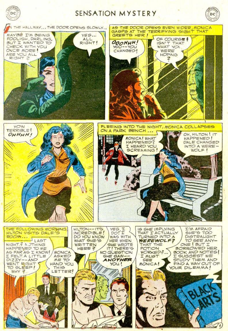 Read online Sensation (Mystery) Comics comic -  Issue #112 - 18