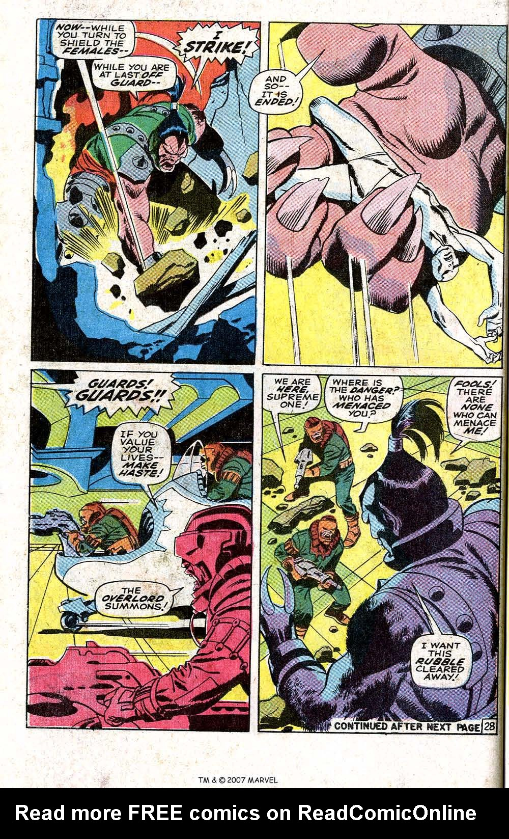 Read online Silver Surfer (1968) comic -  Issue #6 - 34