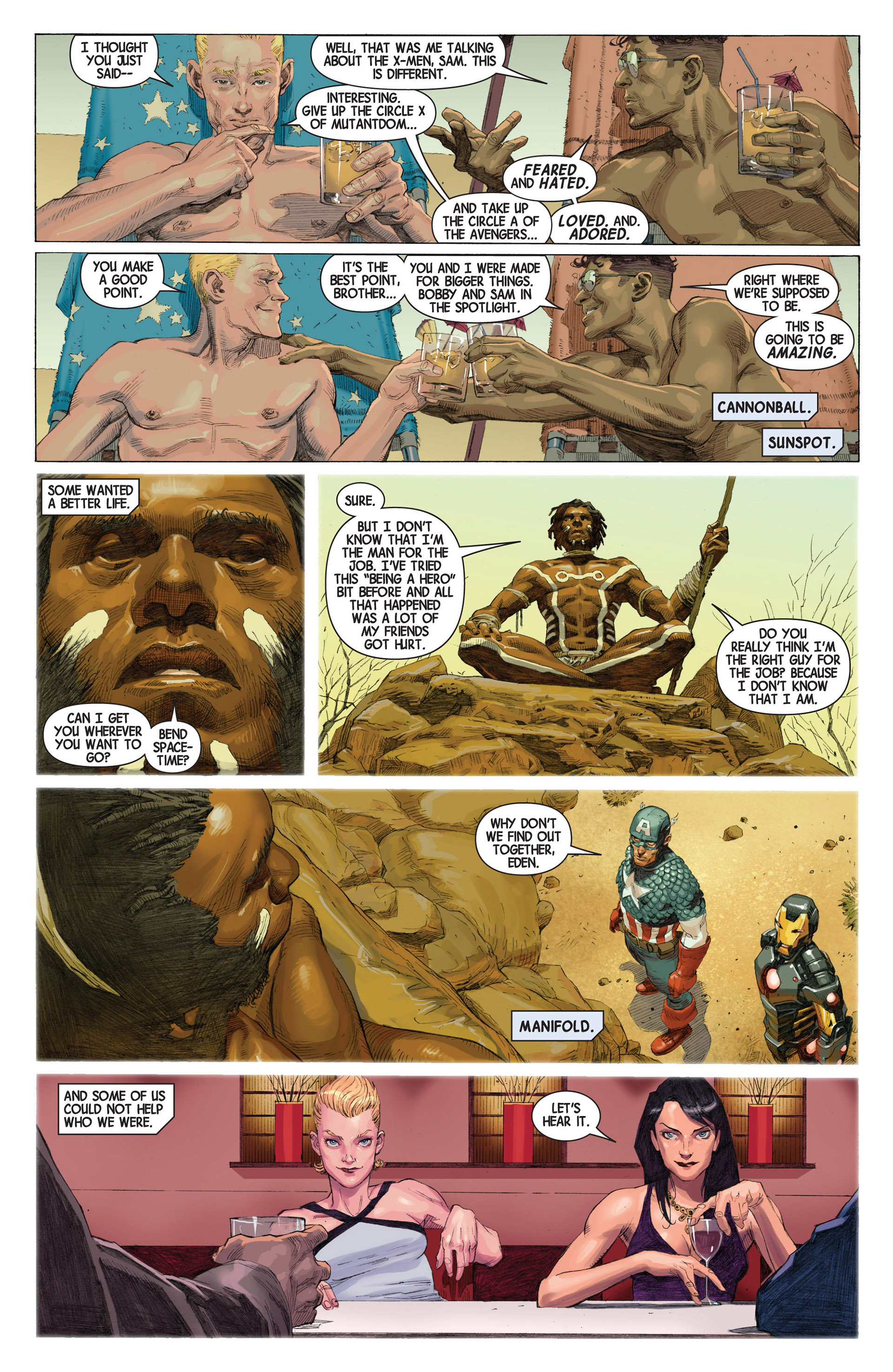 Read online Avengers (2013) comic -  Issue #2 - 16