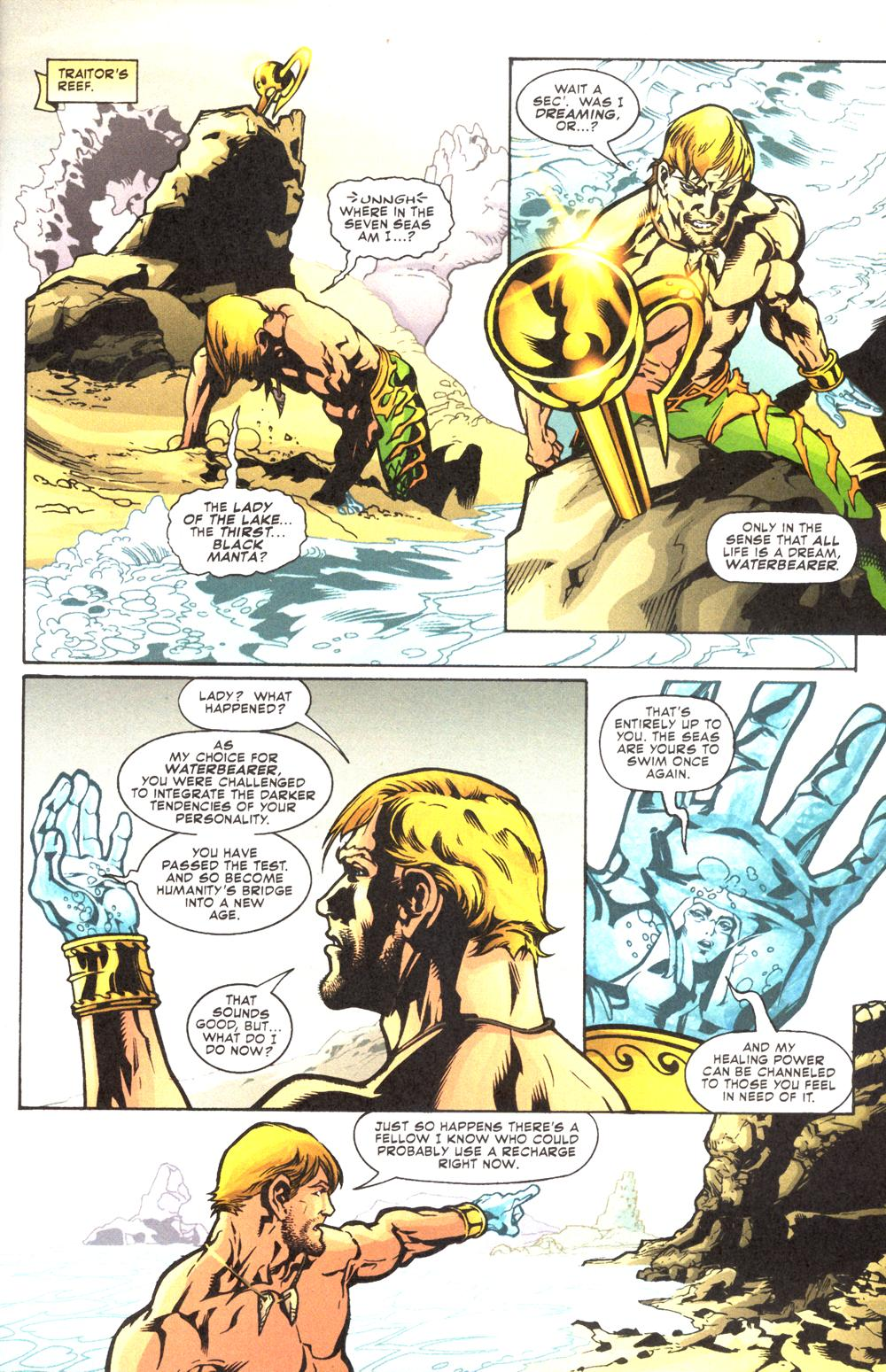 Read online Aquaman (2003) comic -  Issue #12 - 21