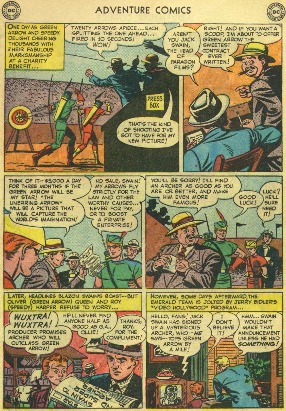 Read online Adventure Comics (1938) comic -  Issue #167 - 40