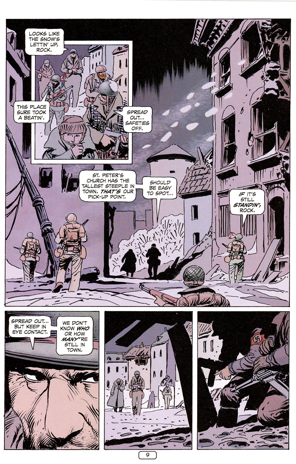 Read online Sgt. Rock: The Prophecy comic -  Issue #6 - 9