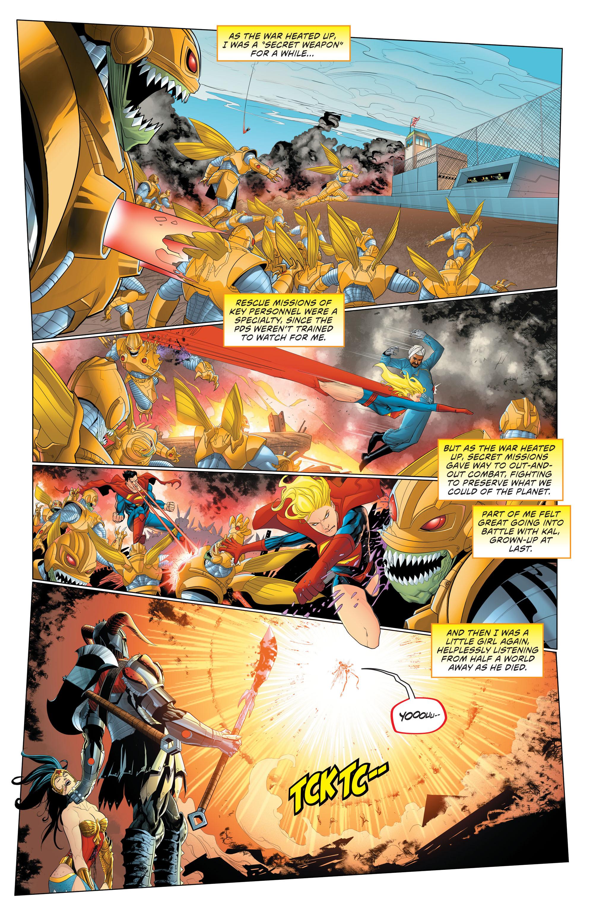 Read online Secret Origins (2014) comic -  Issue #9 - 21