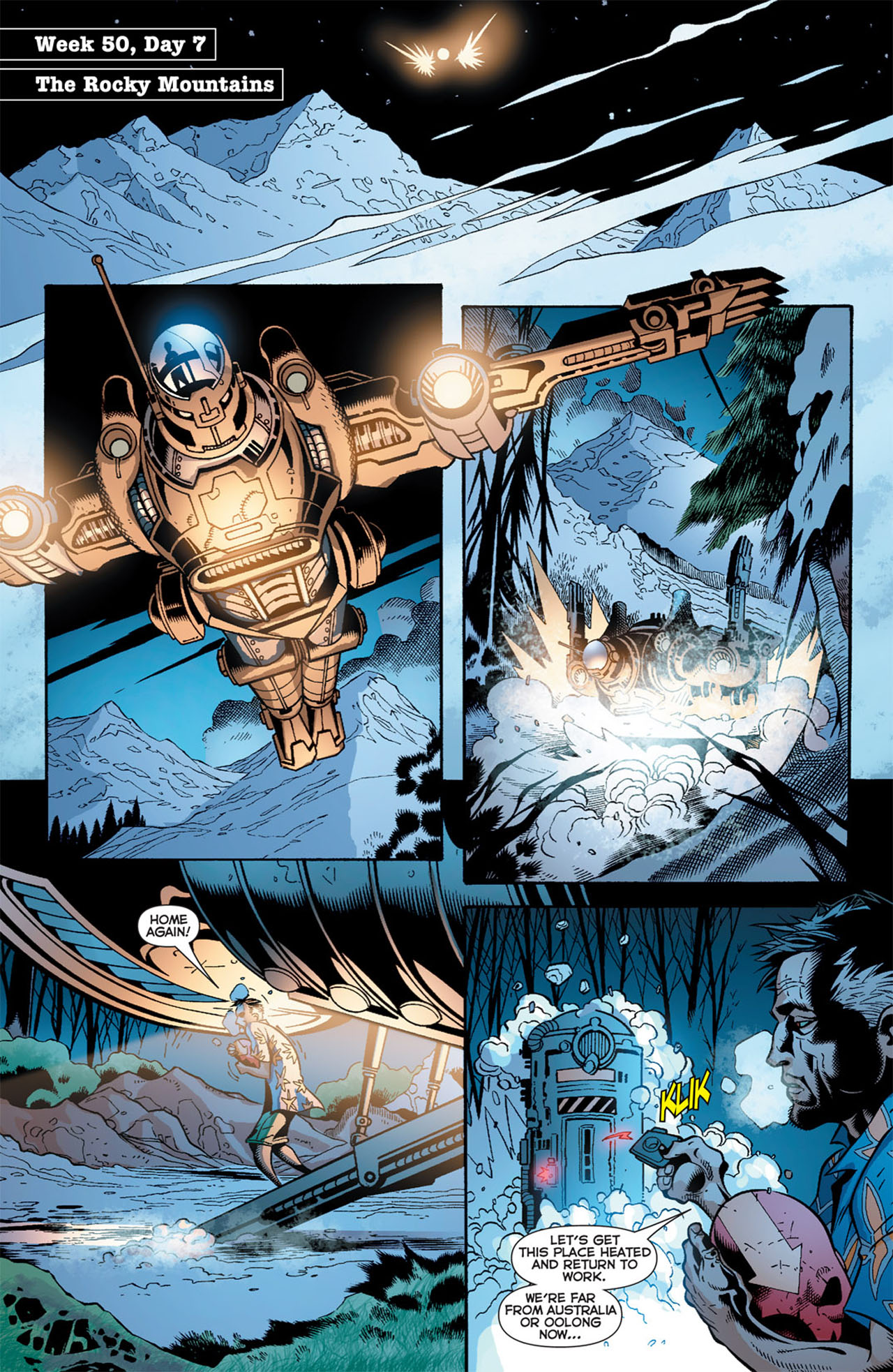 Read online 52 comic -  Issue #50 - 23