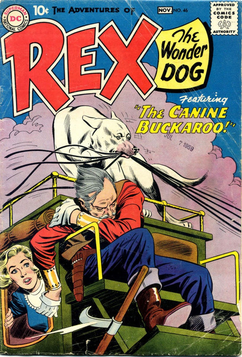 The Adventures of Rex the Wonder Dog issue 46 - Page 1