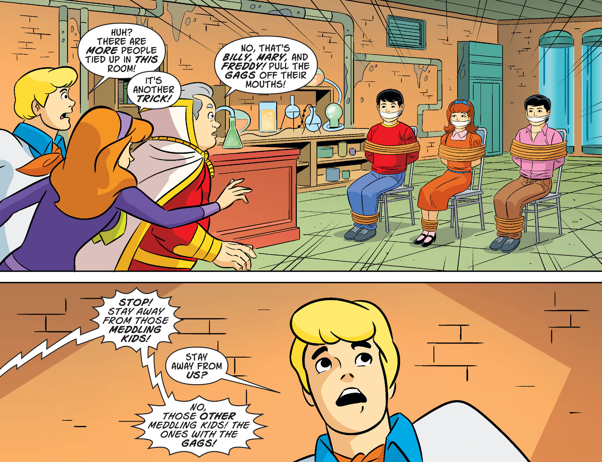 Read online Scooby-Doo! Team-Up comic -  Issue #31 - 20