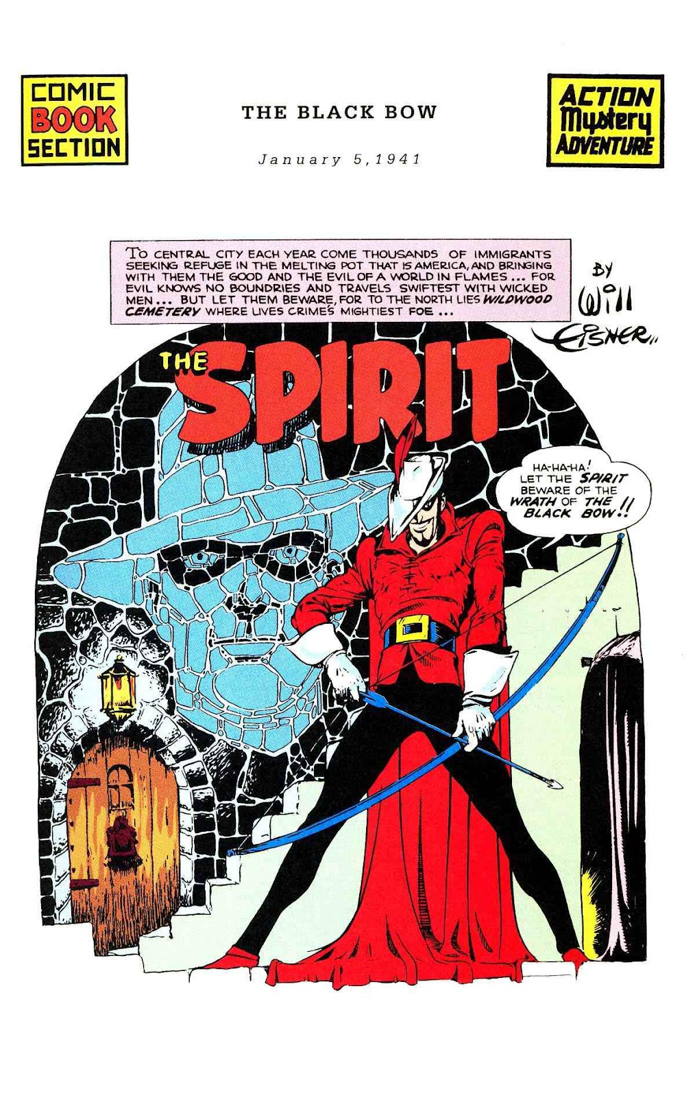 Read online Will Eisner's The Spirit Archives comic -  Issue # TPB 2 (Part 1) - 2