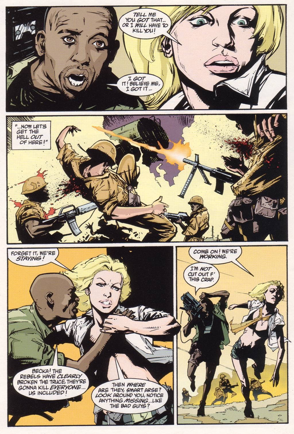 Aliens vs. Predator: Eternal issue 1 - Page 10