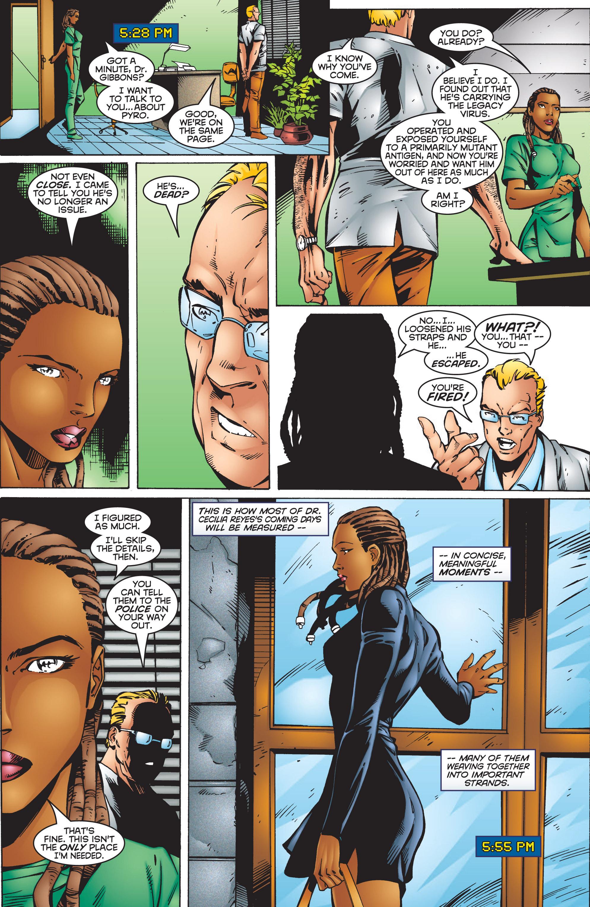 Read online Uncanny X-Men (1963) comic -  Issue #351 - 23