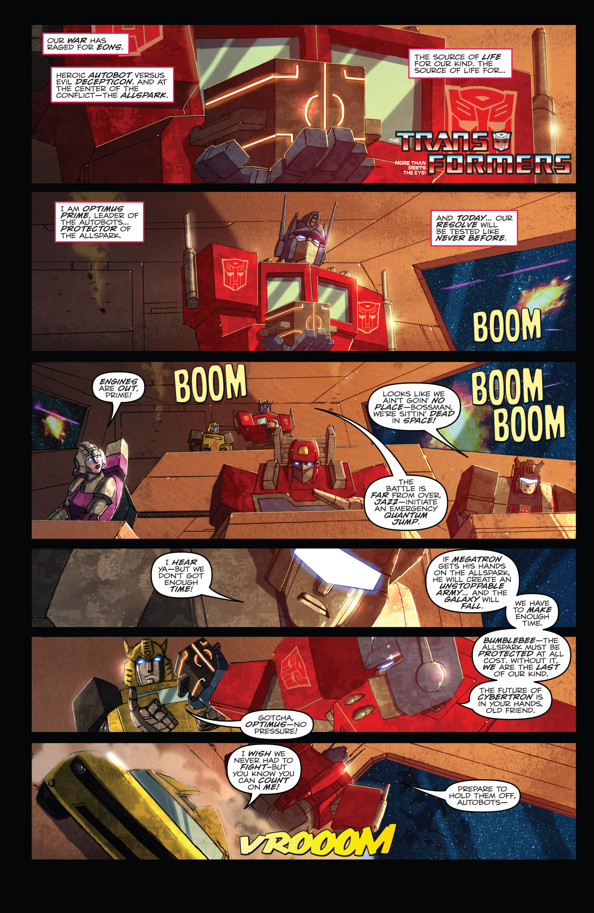 Read online Angry Birds Transformers comic -  Issue #1 - 3