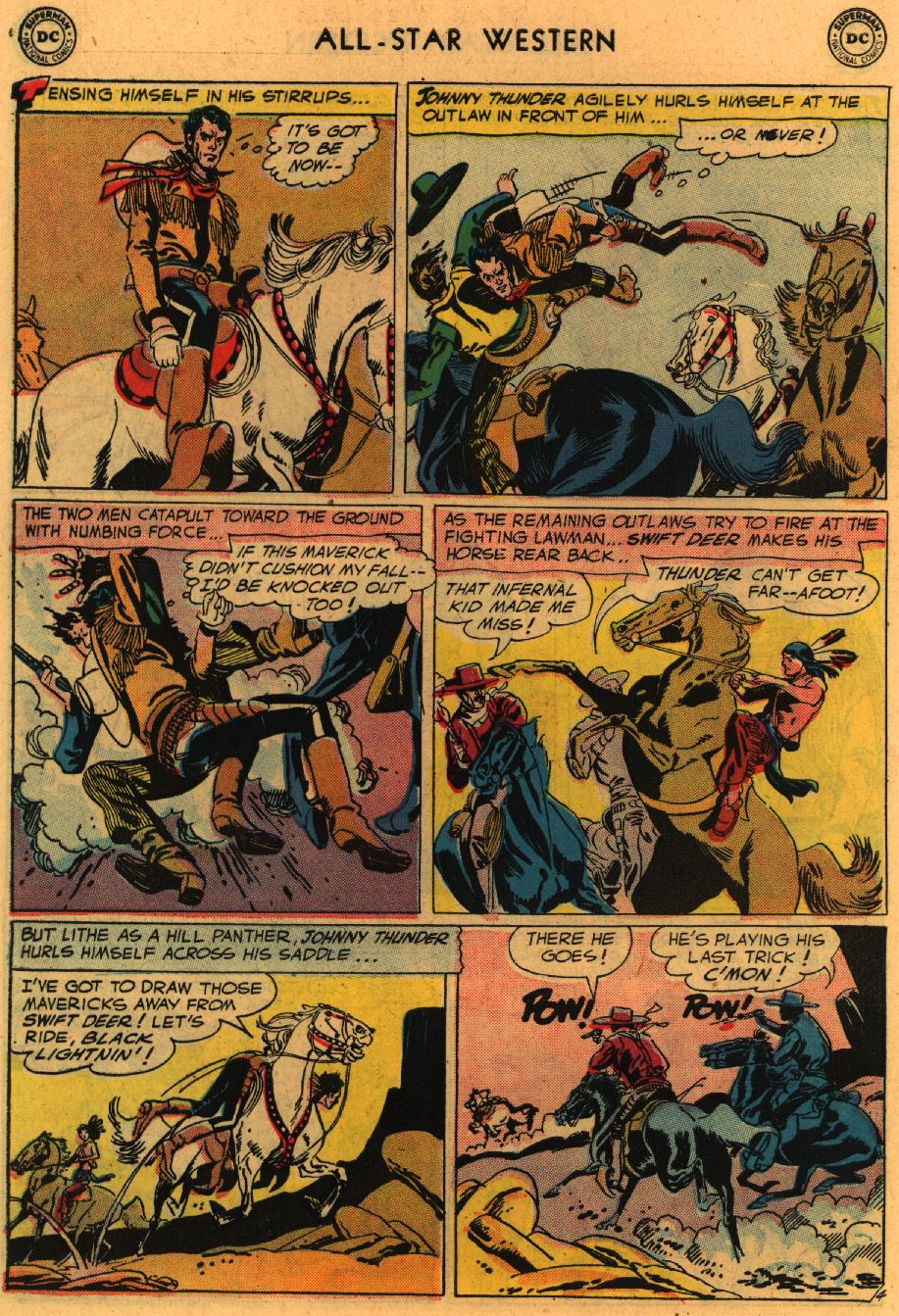 Read online All-Star Western (1951) comic -  Issue #98 - 31