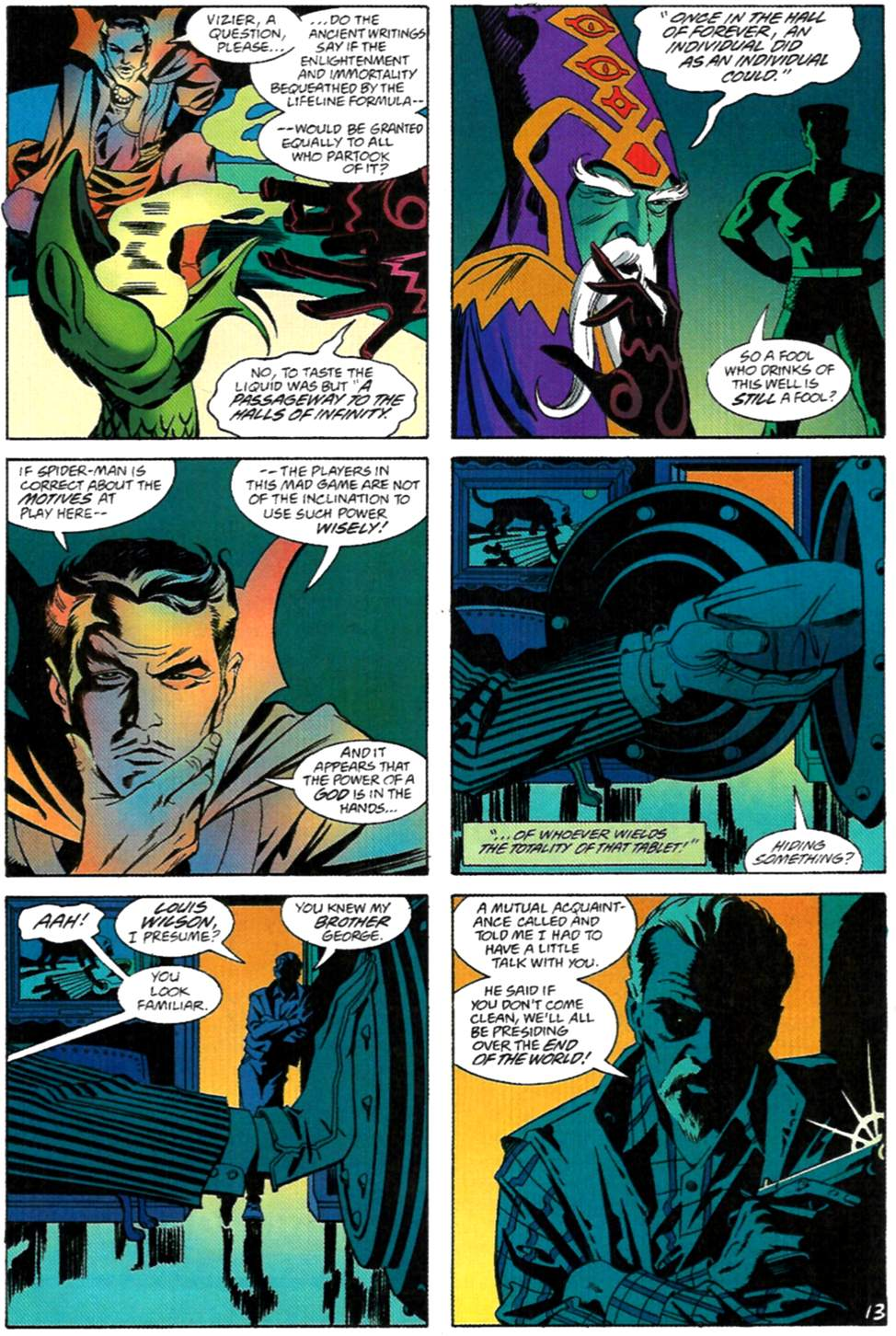 Read online Spider-Man: Lifeline comic -  Issue #2 - 14