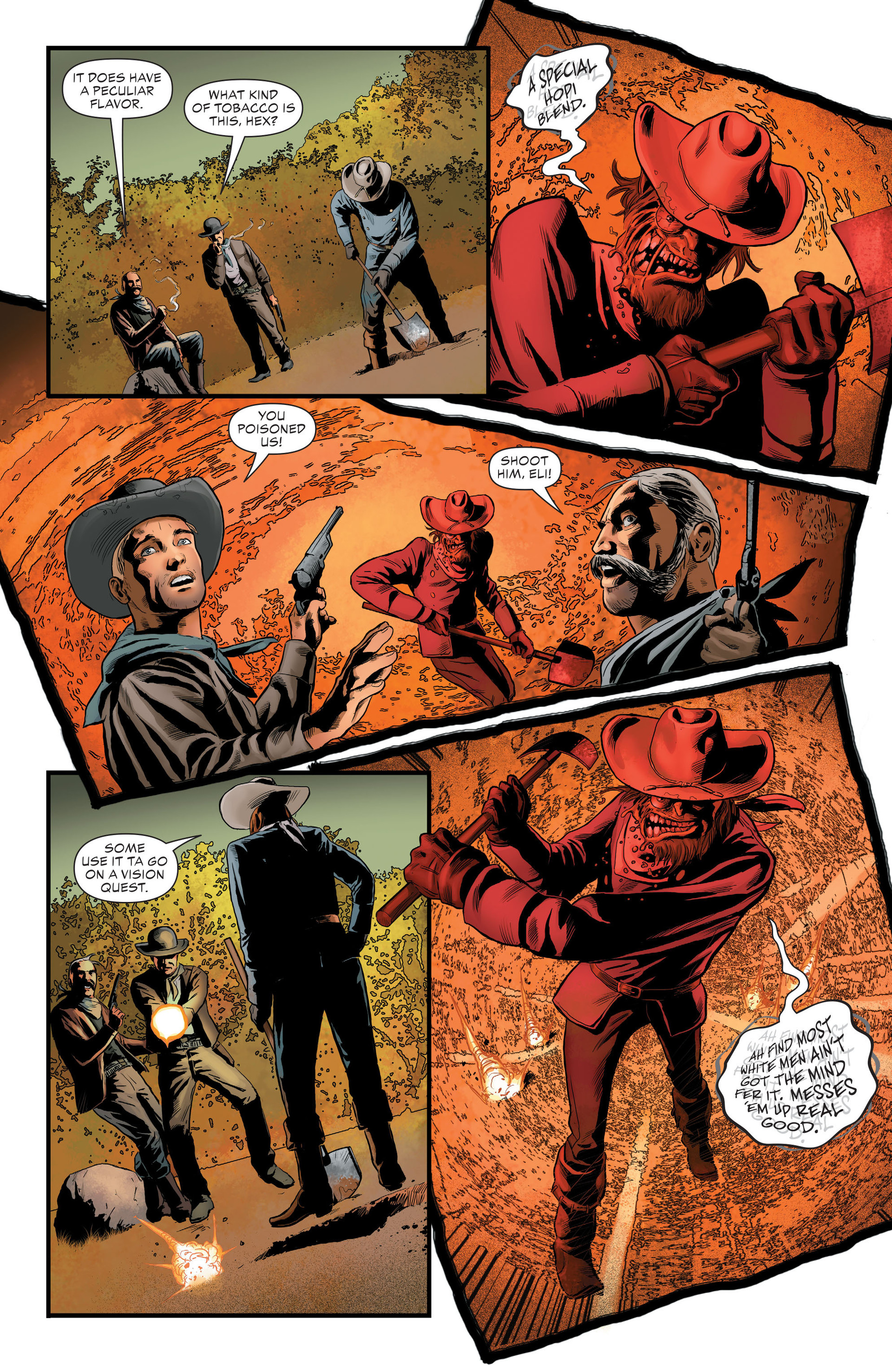 Read online All-Star Western (2011) comic -  Issue #29 - 16