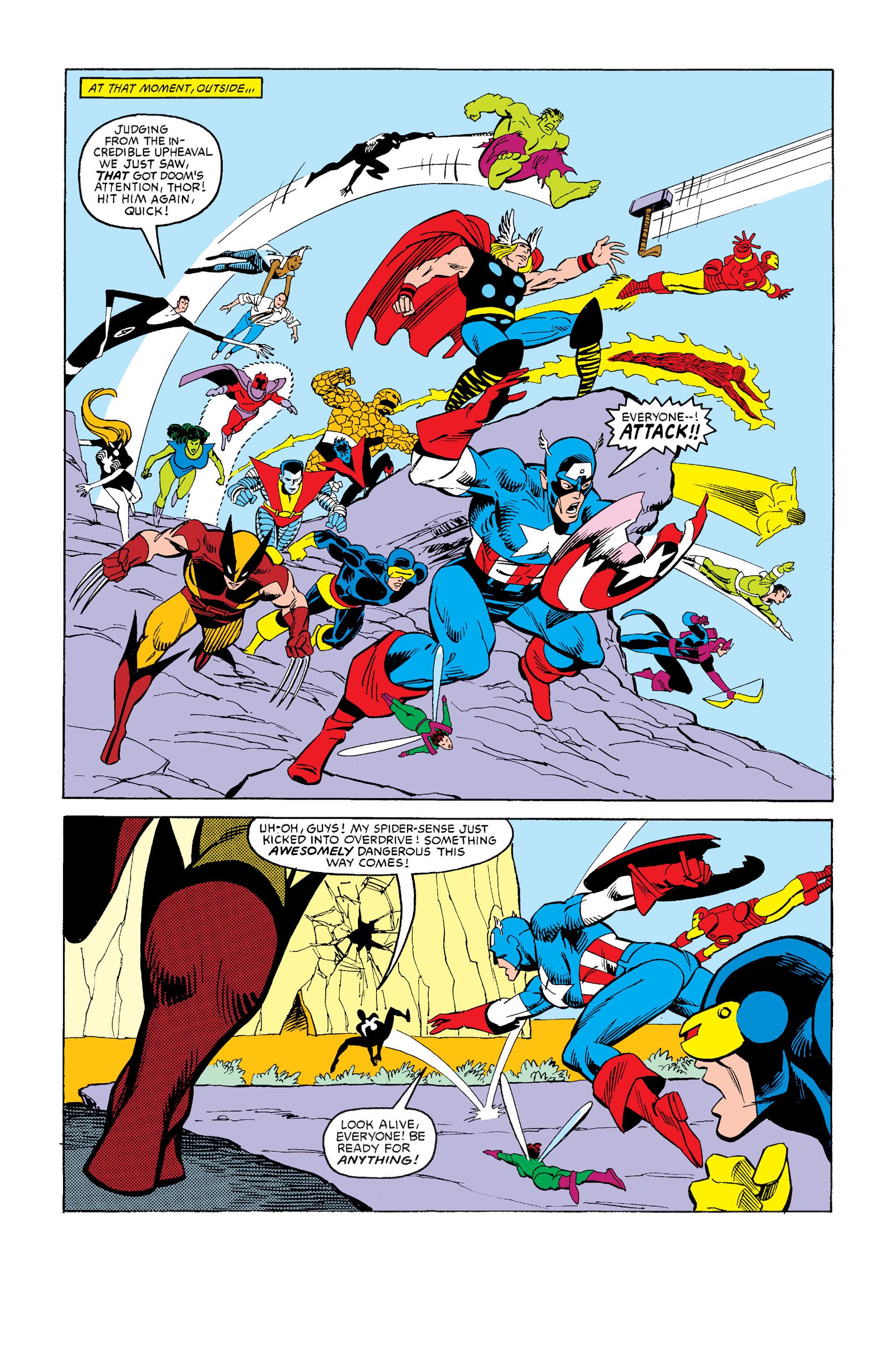Read online Secret Wars (1985) comic -  Issue #12 - 22