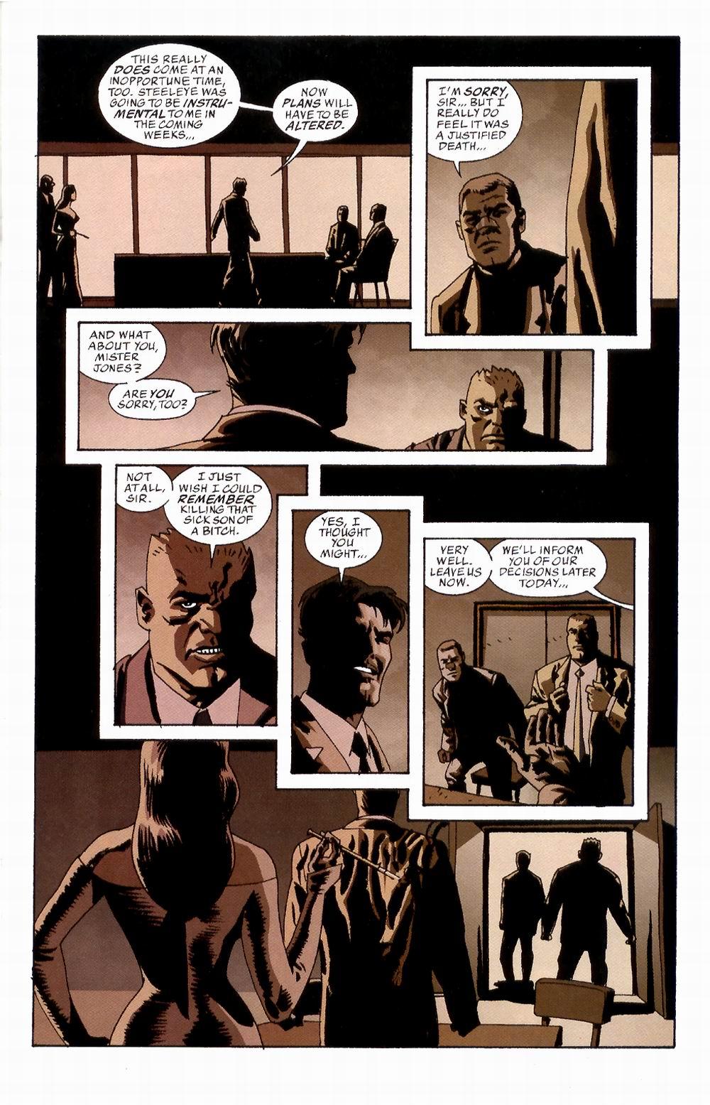 Read online Sleeper comic -  Issue #2 - 19