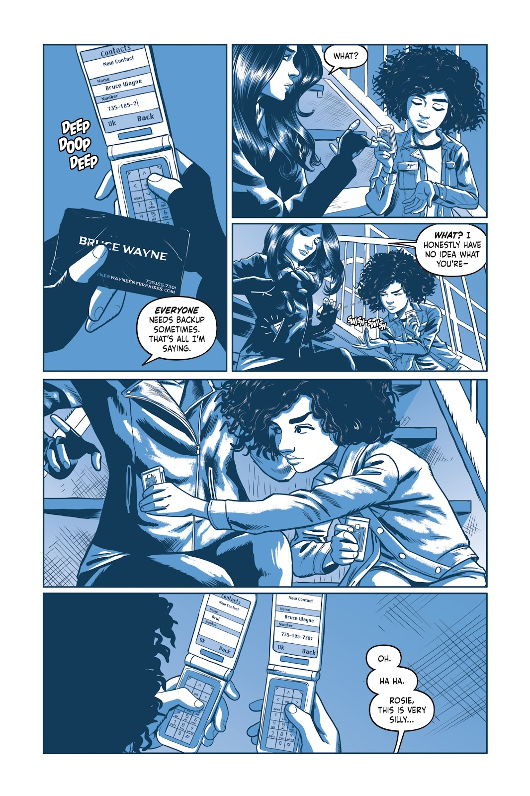 Read online Under the Moon: A Catwoman Tale comic -  Issue # TPB (Part 2) - 43