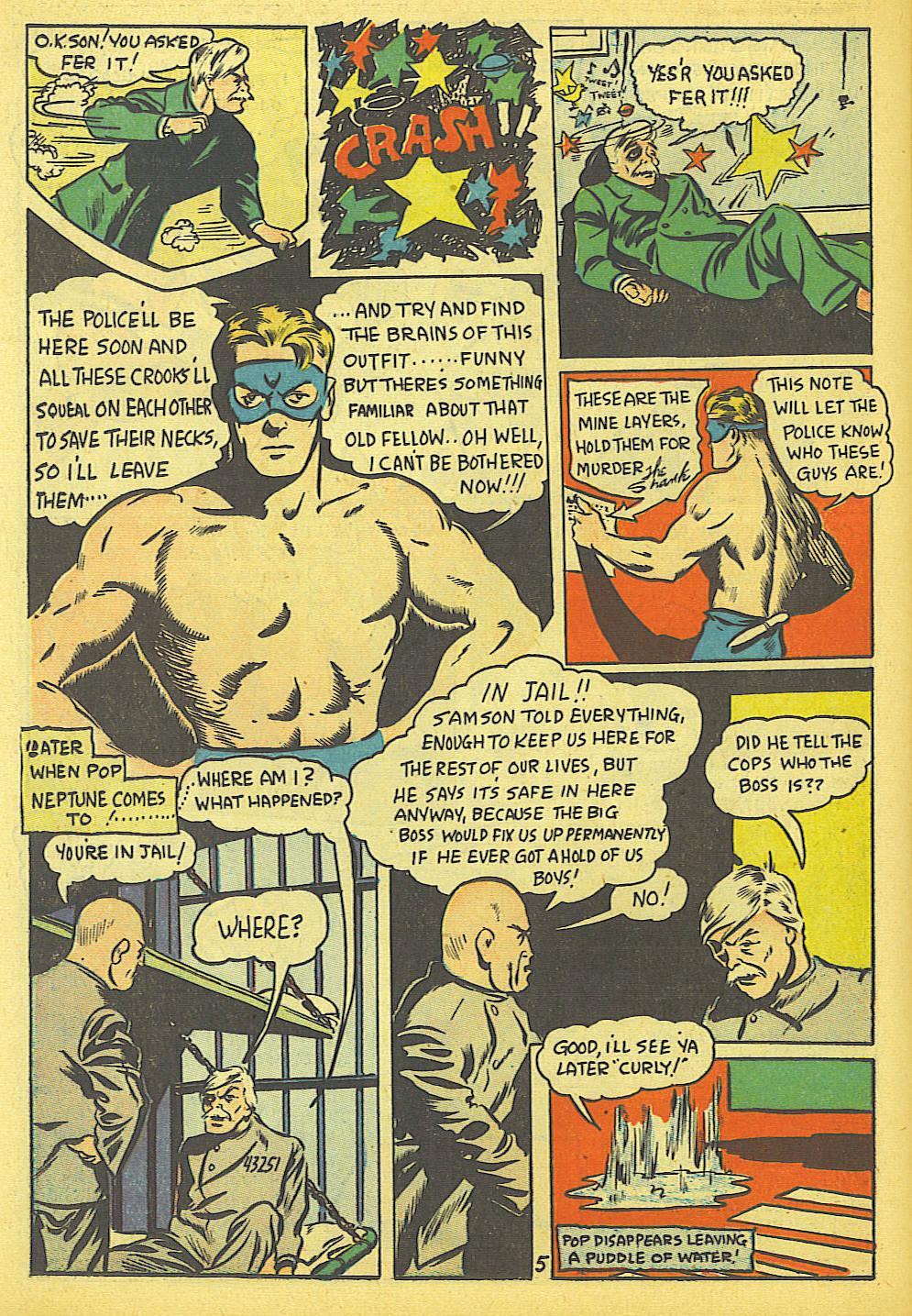 Read online Amazing Man Comics comic -  Issue #19 - 48