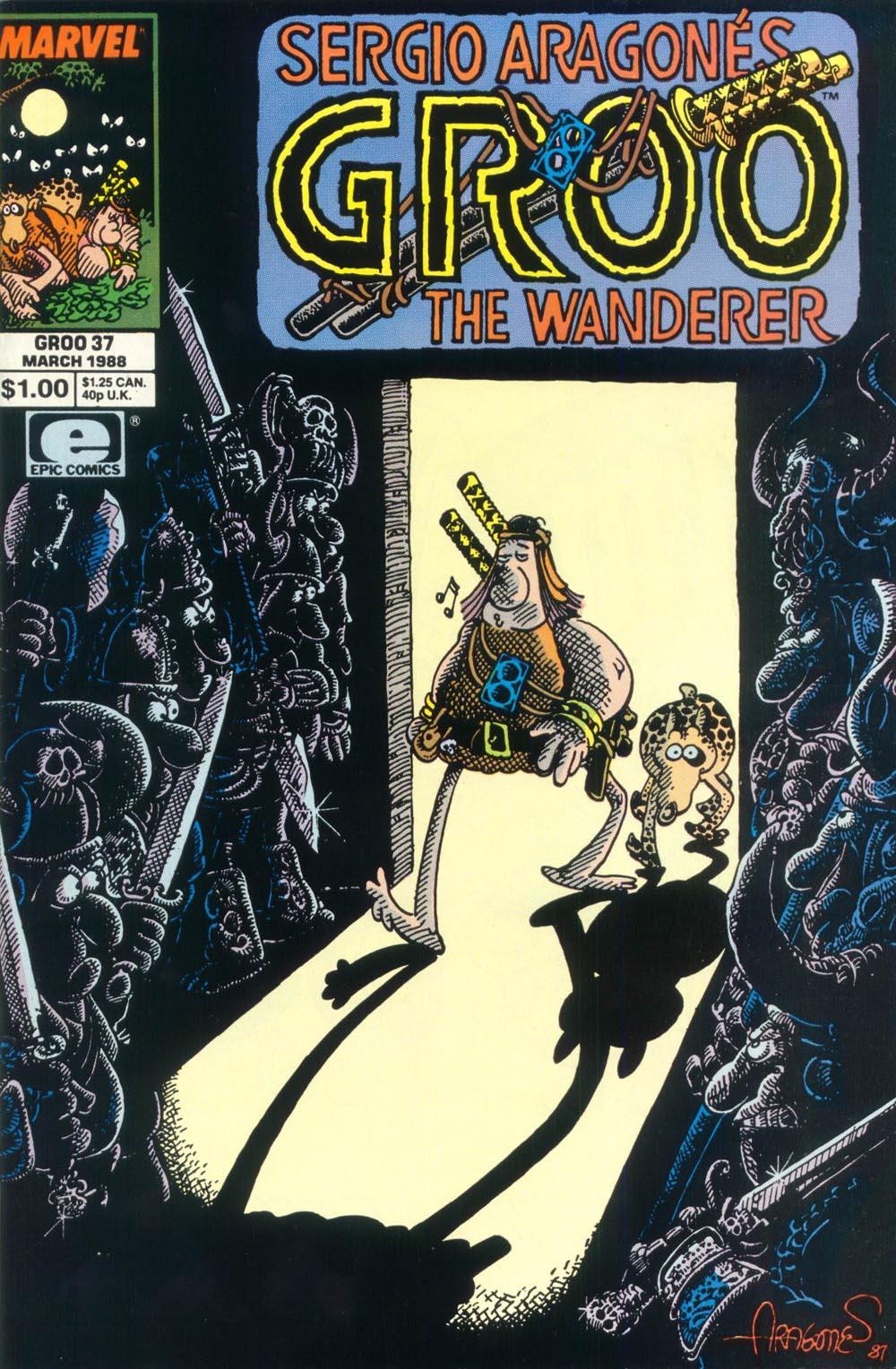 Read online Sergio Aragonés Groo the Wanderer comic -  Issue #37 - 1