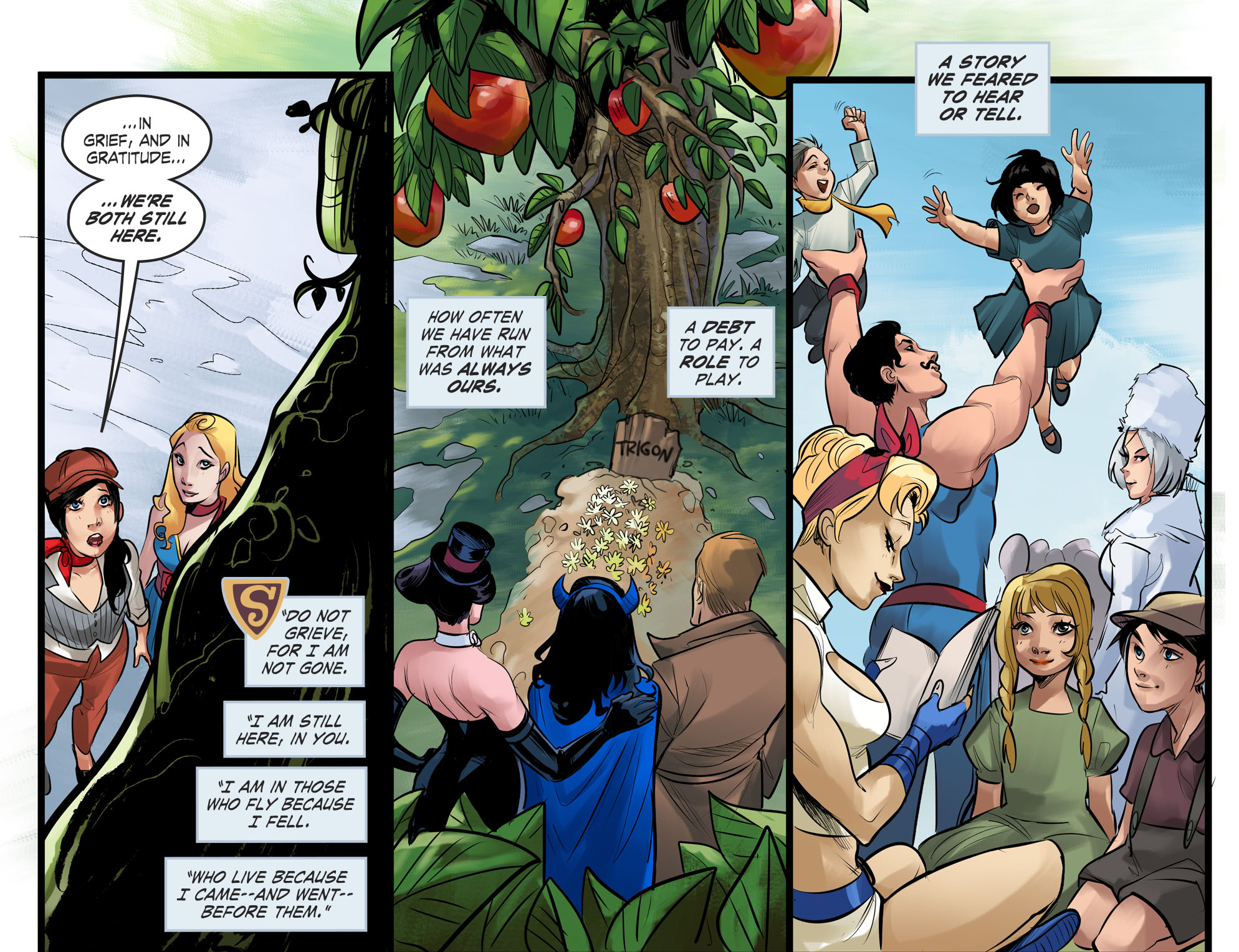 Read online DC Comics: Bombshells comic -  Issue #100 - 18
