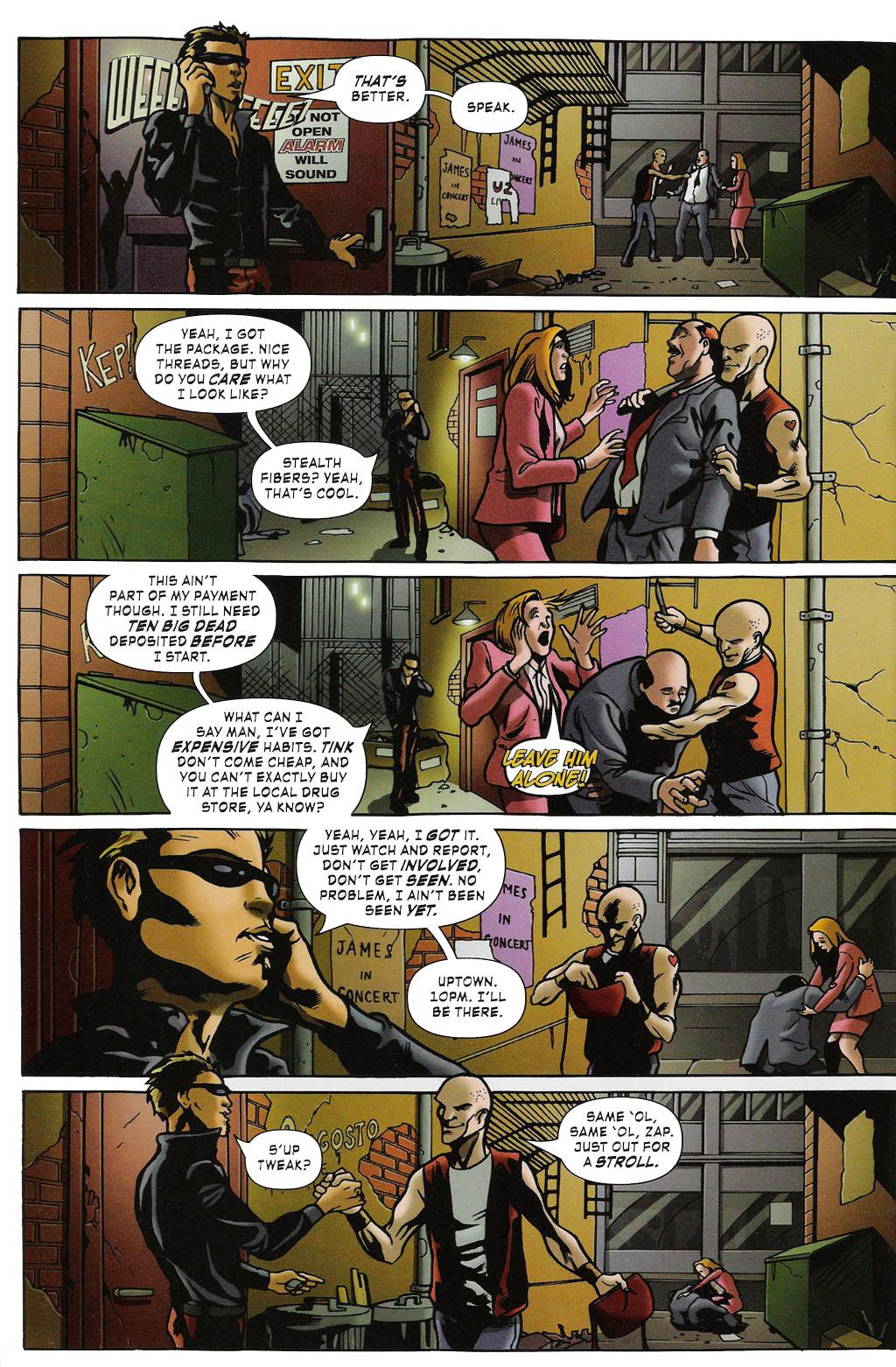 Read online ShadowHawk (2005) comic -  Issue #2 - 6