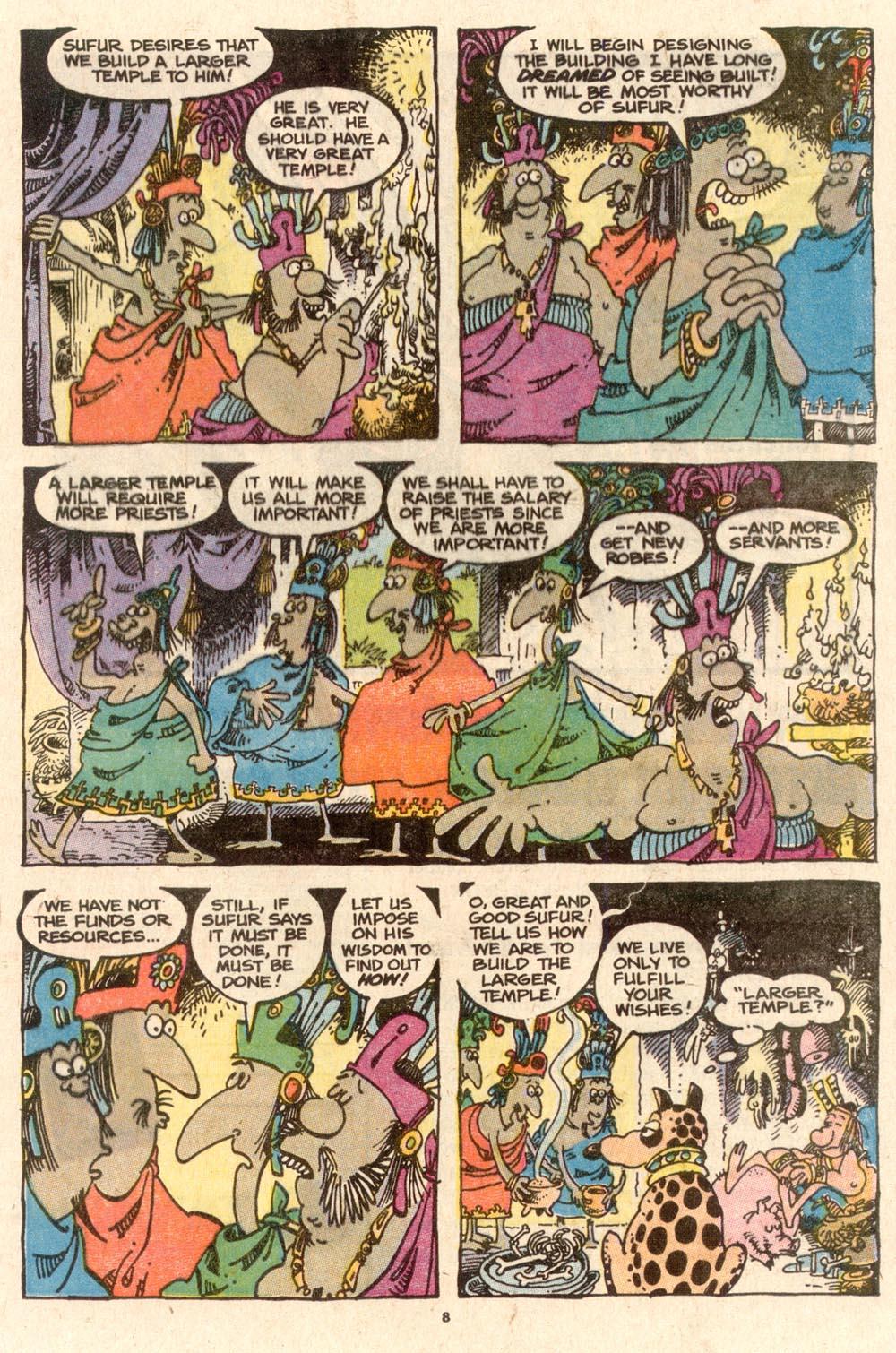 Read online Sergio Aragonés Groo the Wanderer comic -  Issue #58 - 8