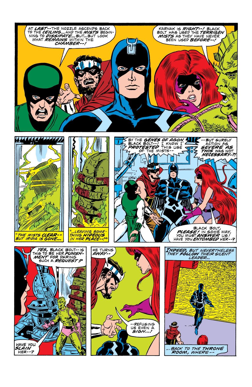 Read online Marvel Masterworks: The Inhumans comic -  Issue # TPB 2 (Part 1) - 18