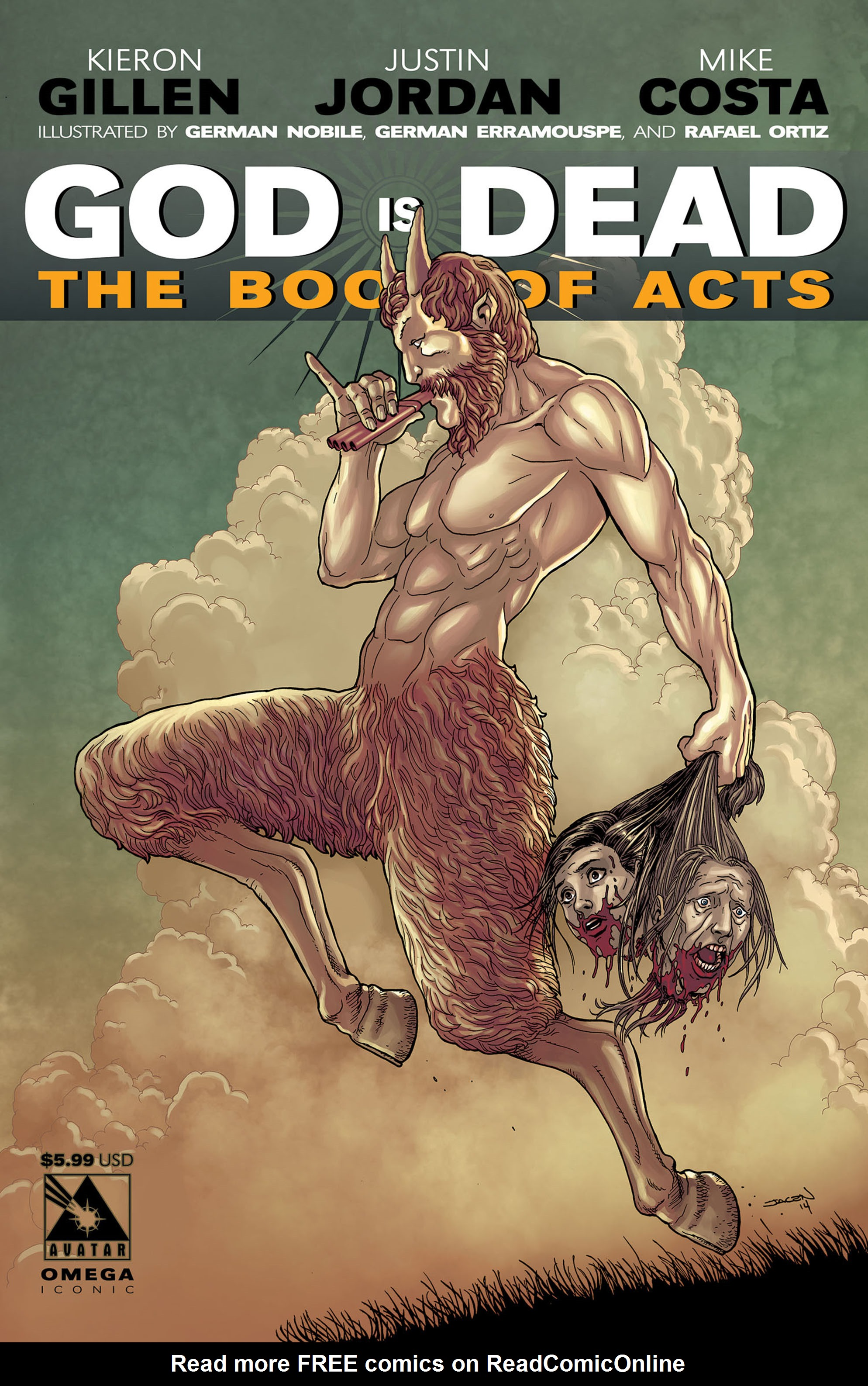 Read online God is Dead: Book of Acts comic -  Issue # Omega - 4