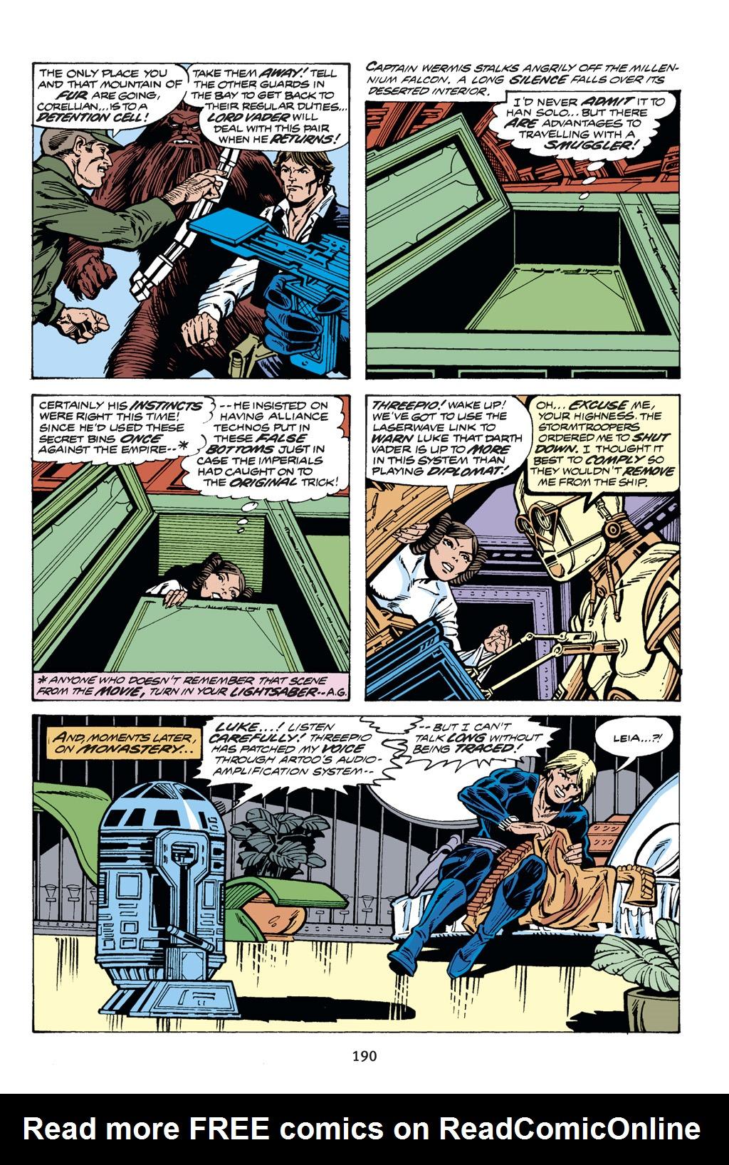Read online Star Wars Omnibus comic -  Issue # Vol. 14 - 189
