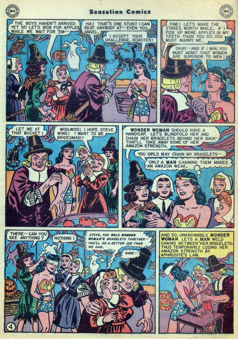 Read online Sensation (Mystery) Comics comic -  Issue #73 - 6