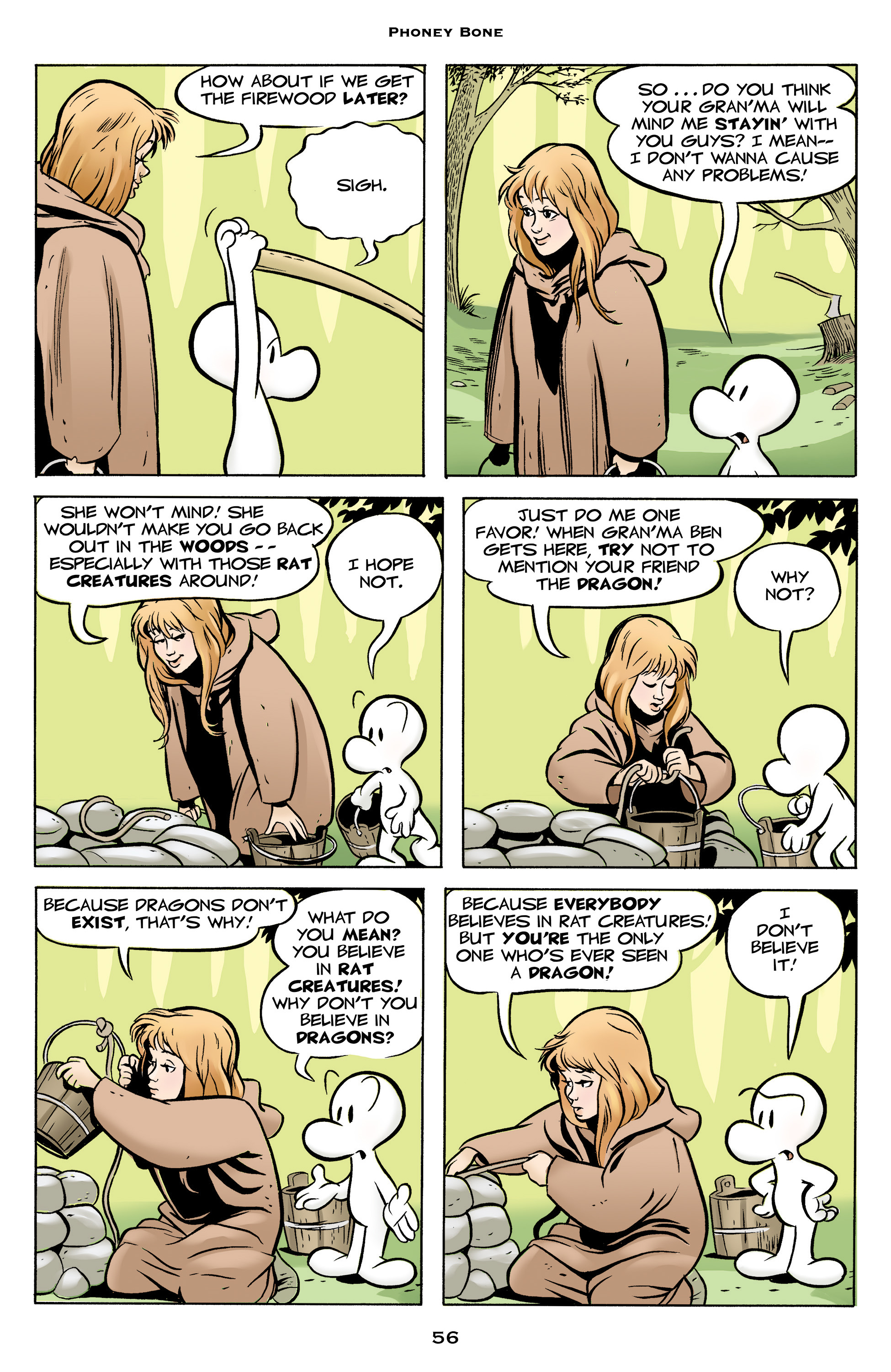 Read online Bone: Out From Boneville comic -  Issue # TPB - 56