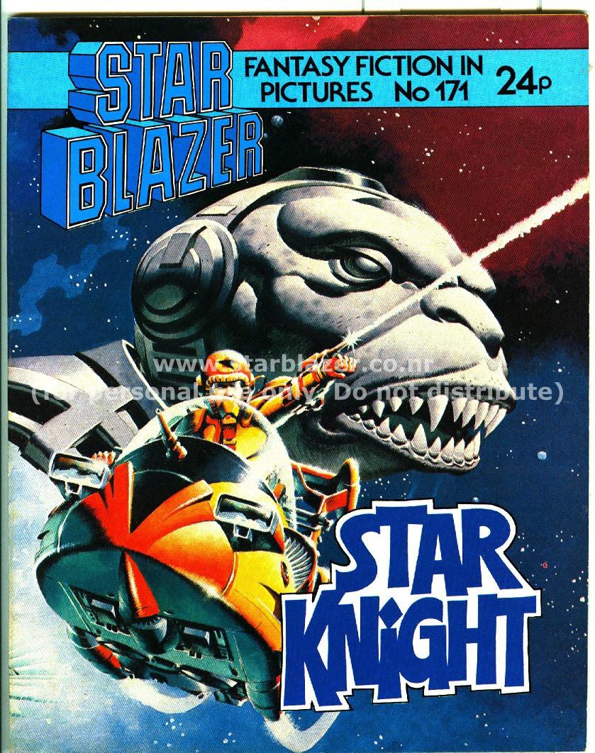 Starblazer issue 171 - Page 1