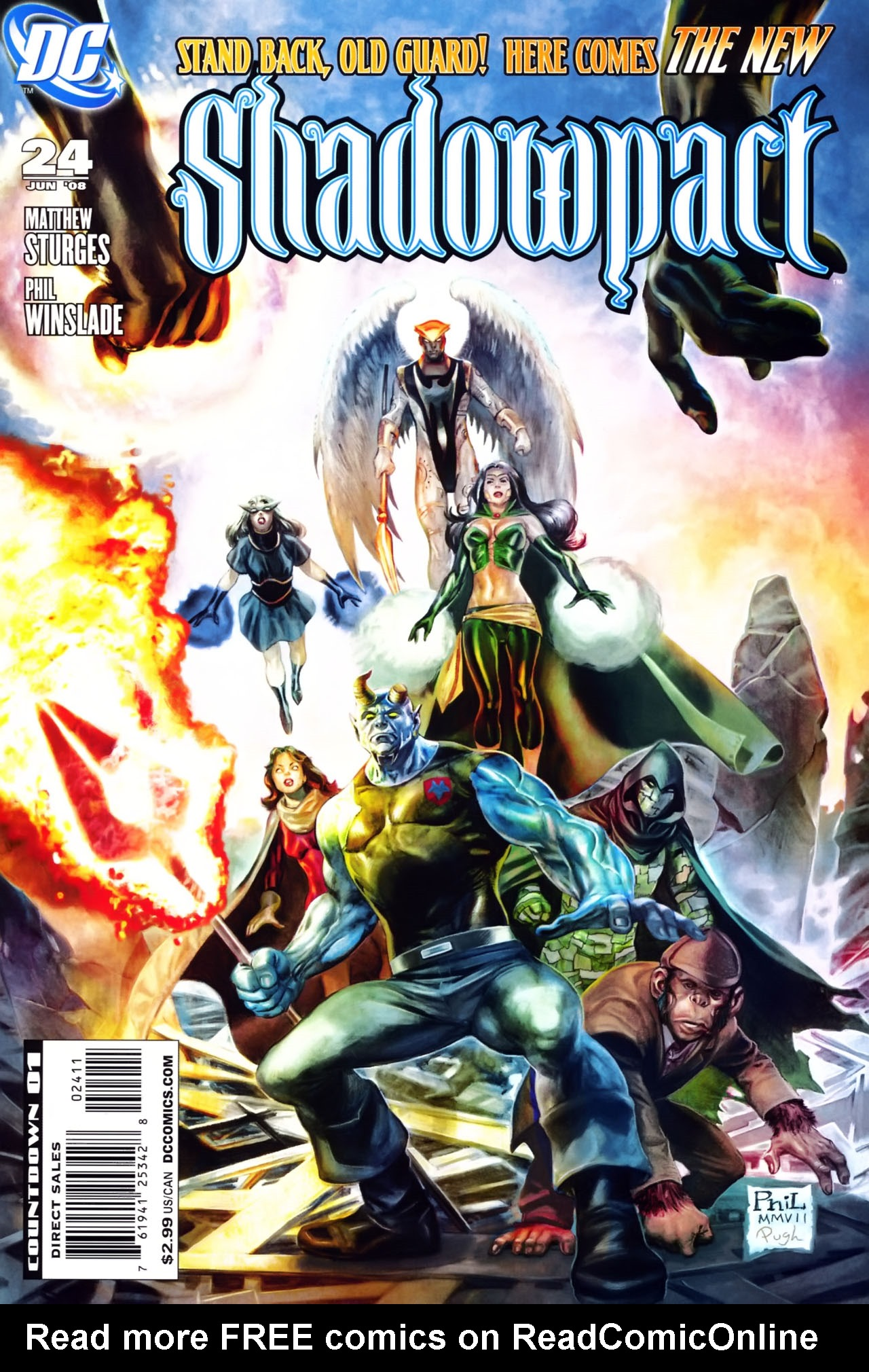 Read online Shadowpact comic -  Issue #24 - 1