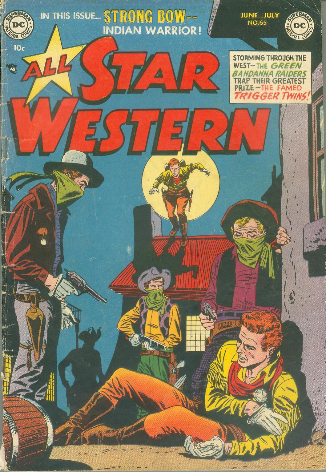 Read online All-Star Western (1951) comic -  Issue #65 - 1