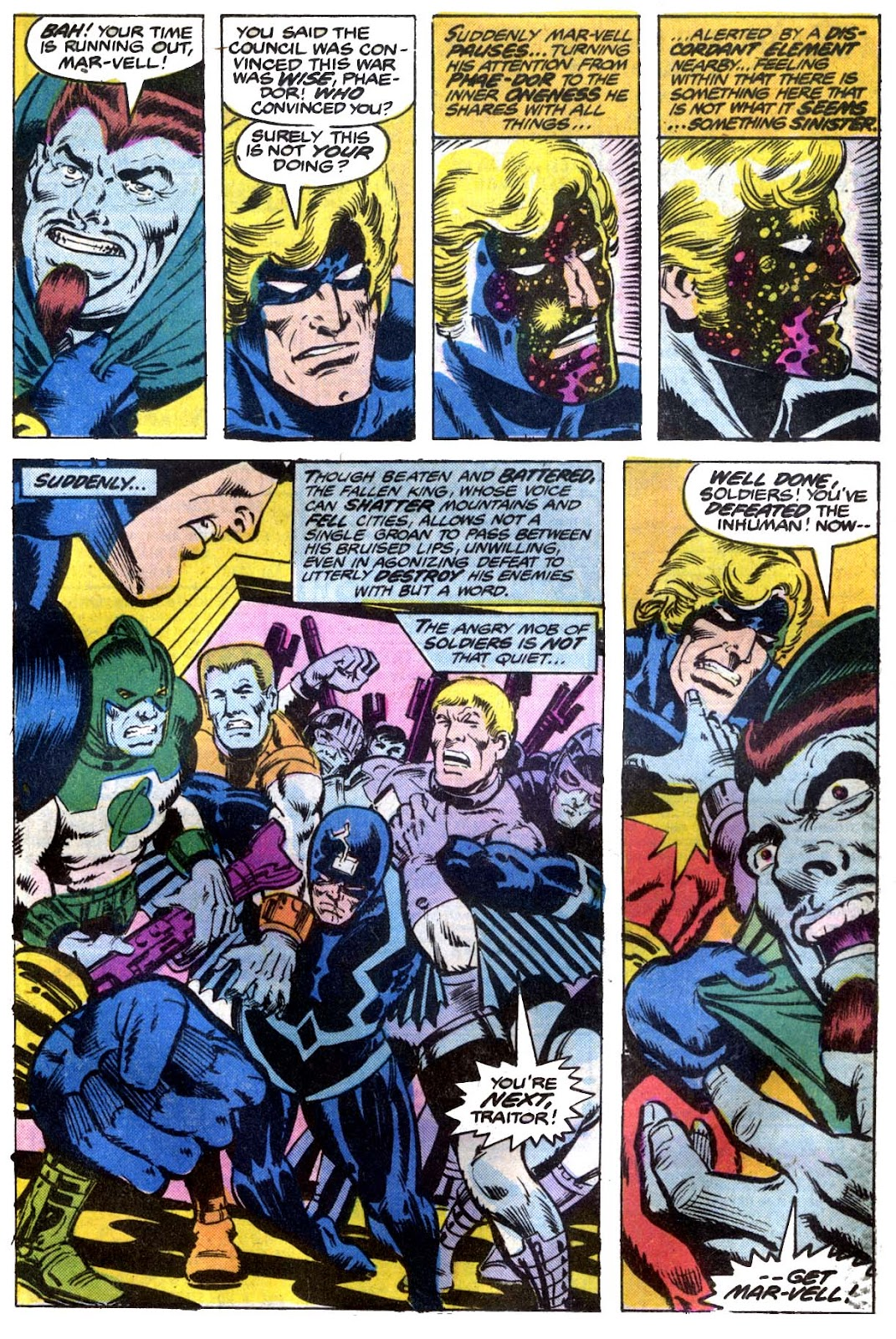 Captain Marvel (1968) issue 53 - Page 12