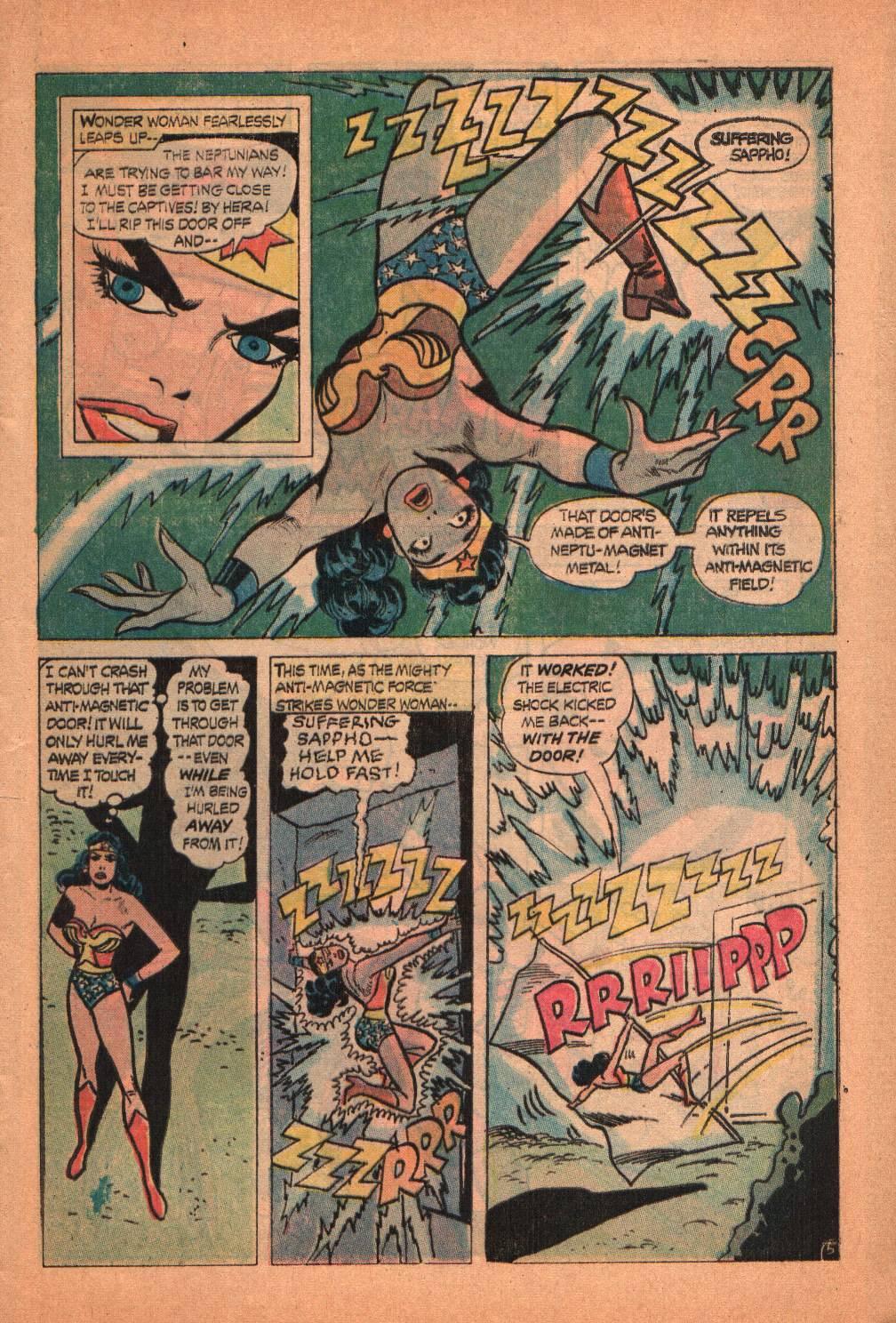 Read online Wonder Woman (1942) comic -  Issue #209 - 9
