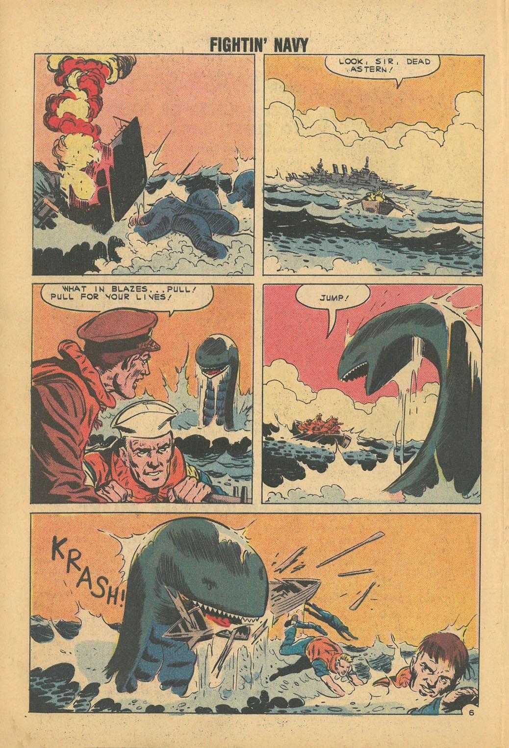 Read online Fightin' Navy comic -  Issue #100 - 31